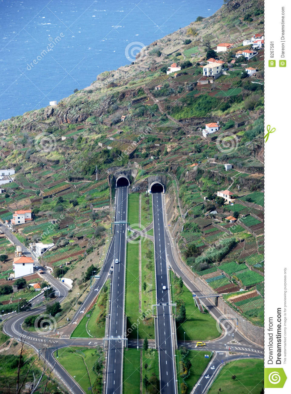 More similar stock images of ` Roads and tunnels on Madeira Island `