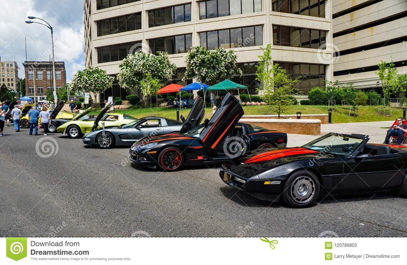 1ddb1c1082 Fast Cars At The Car And Truck Show Editorial Stock Photo - Image of ...