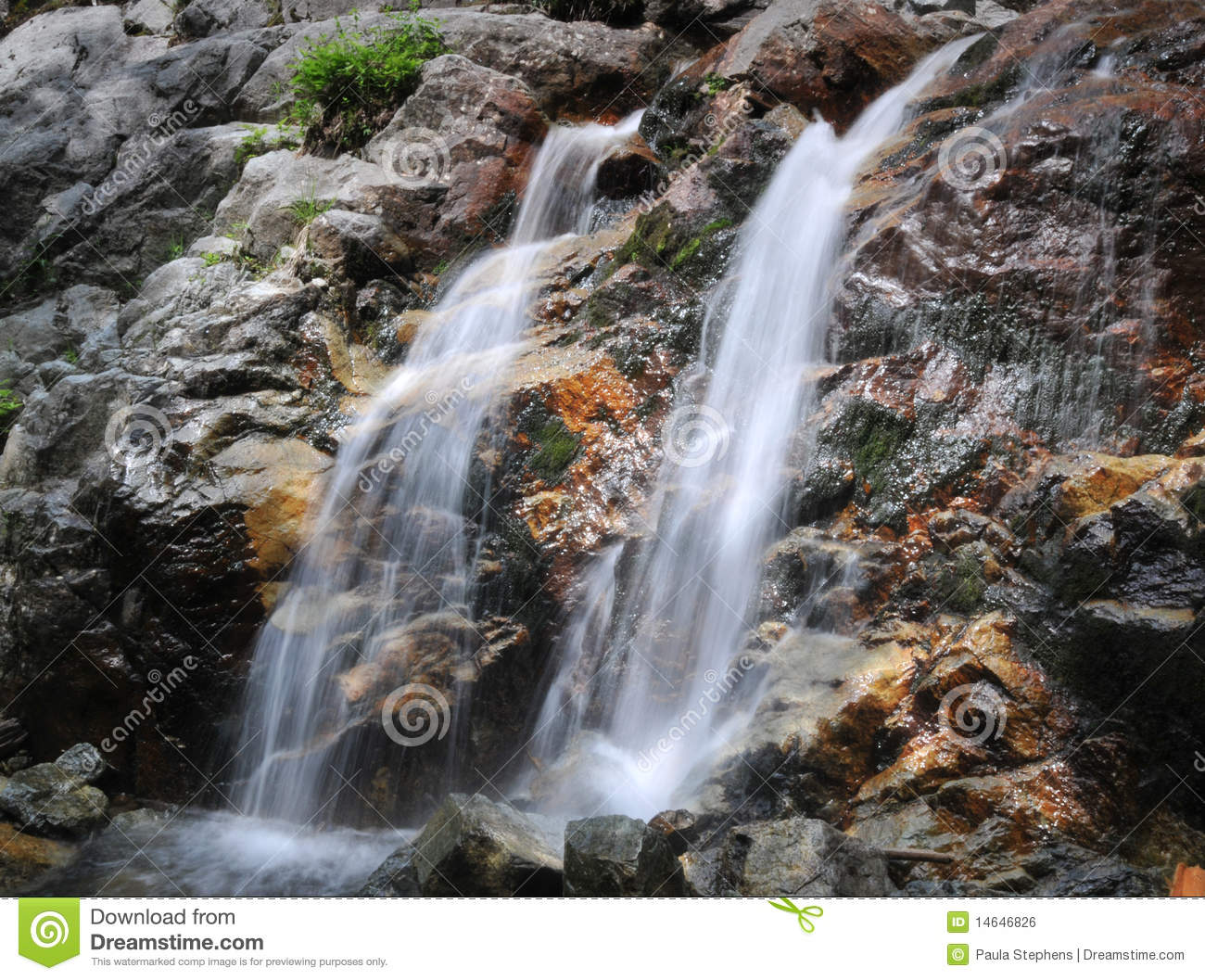 Roaring Brook Falls Royalty Free Stock Image - Image: 14646826