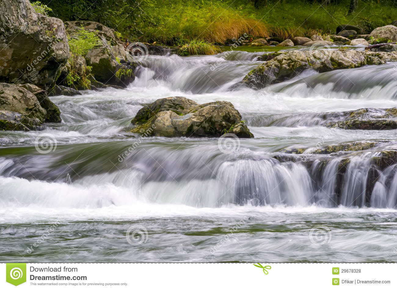 Roaring Fork In The Smokies Royalty Free Stock Photos