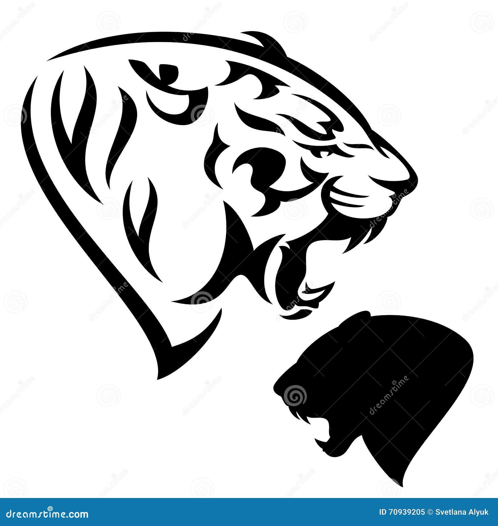 Roaring Tiger Head Sto...