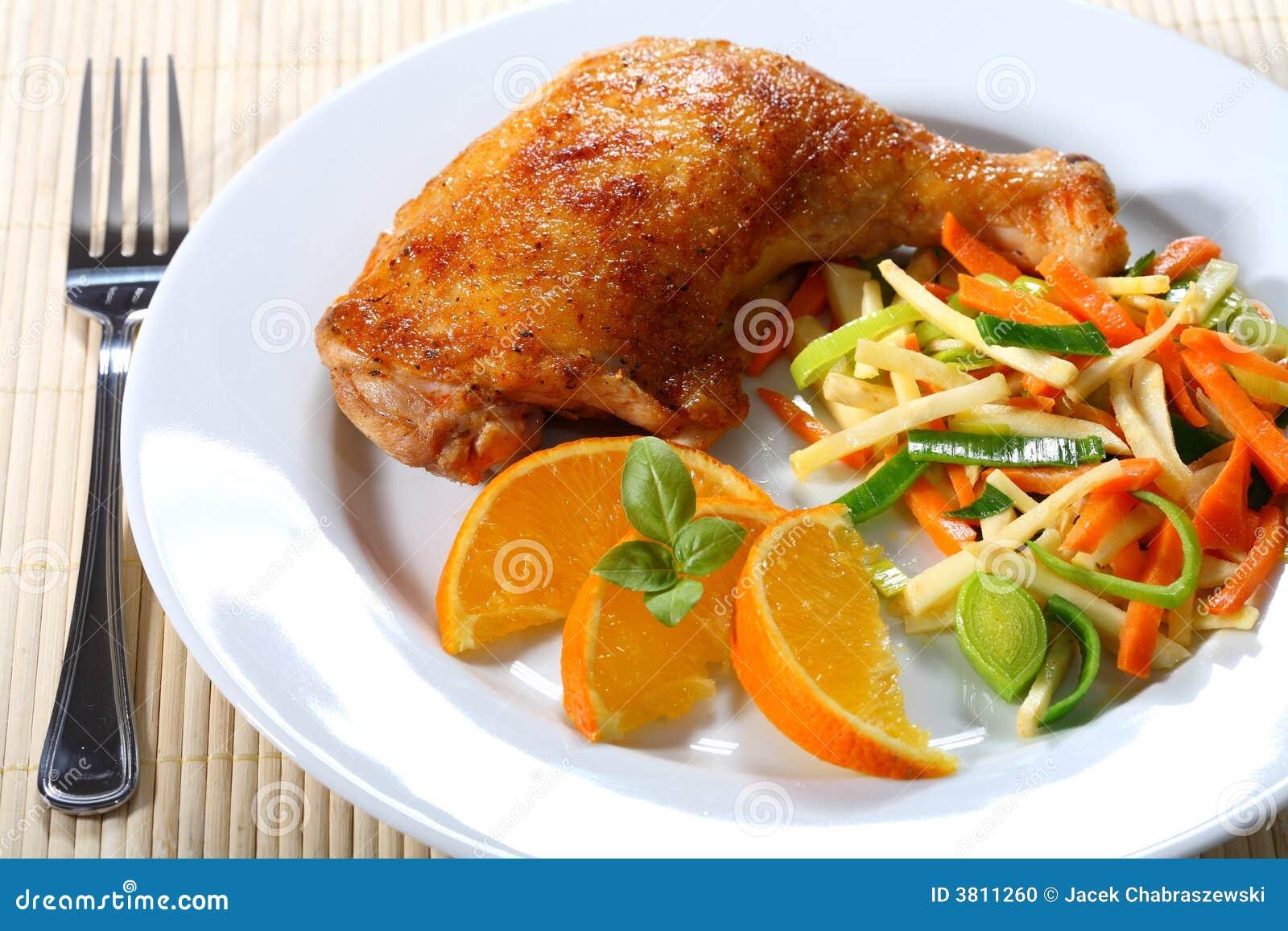 Roast κοτόπουλου
