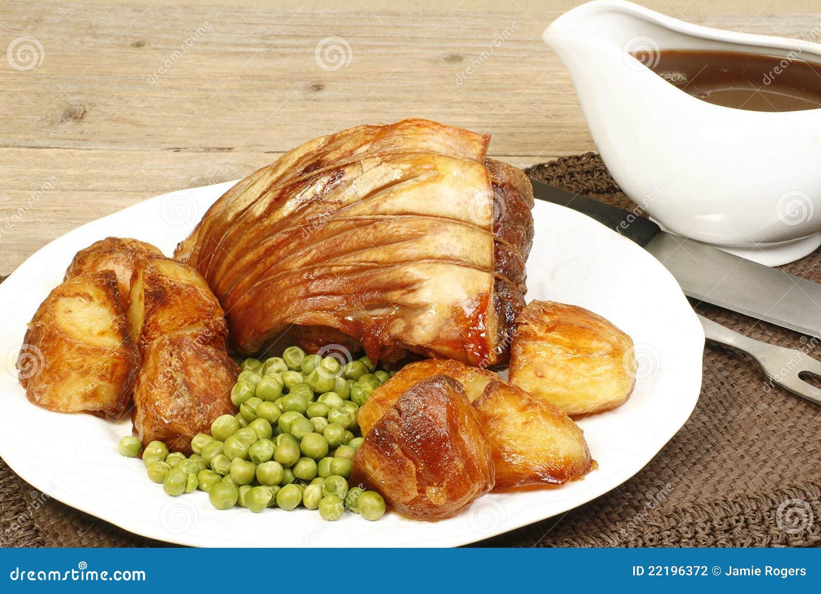 Roast χοιρινού κρέατος