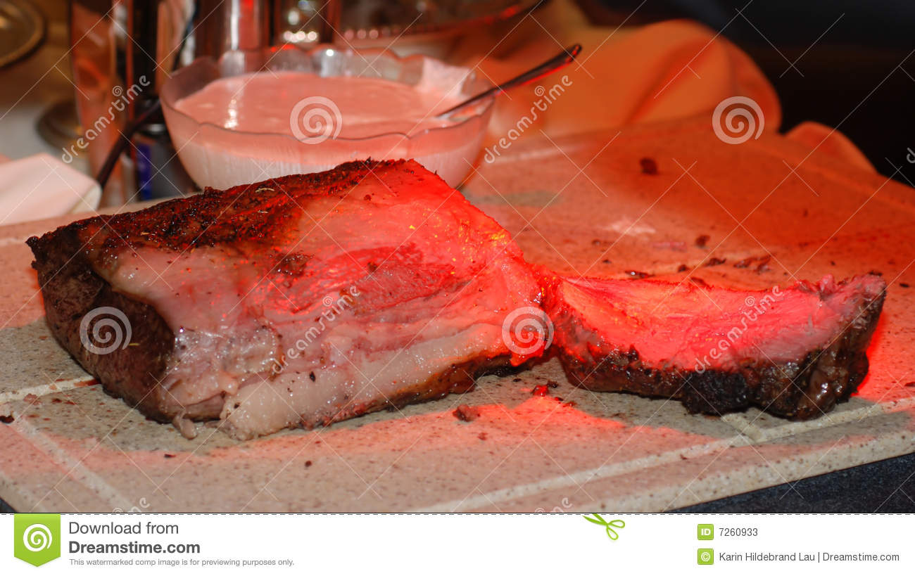 Roast Beef Stock Image Image Of Board Block Buffet 7260933