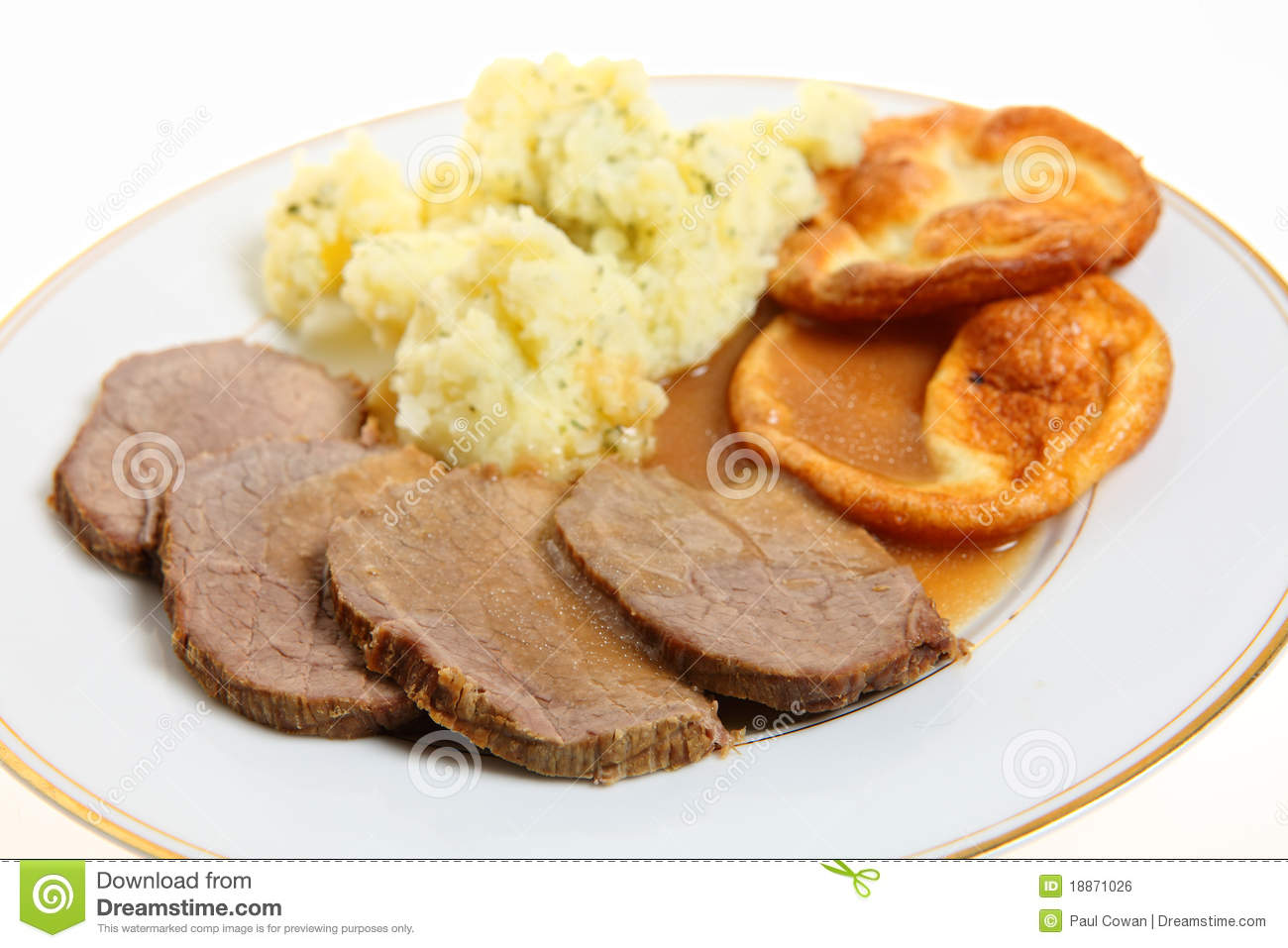 how to cook roast beef and yorkshire pudding