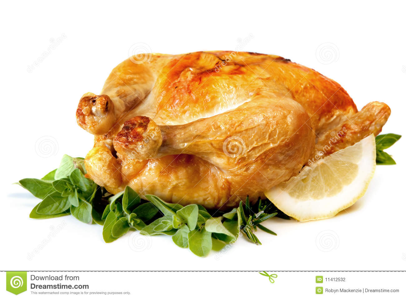 Roast Chicken Stock Photography - Image: 11412532