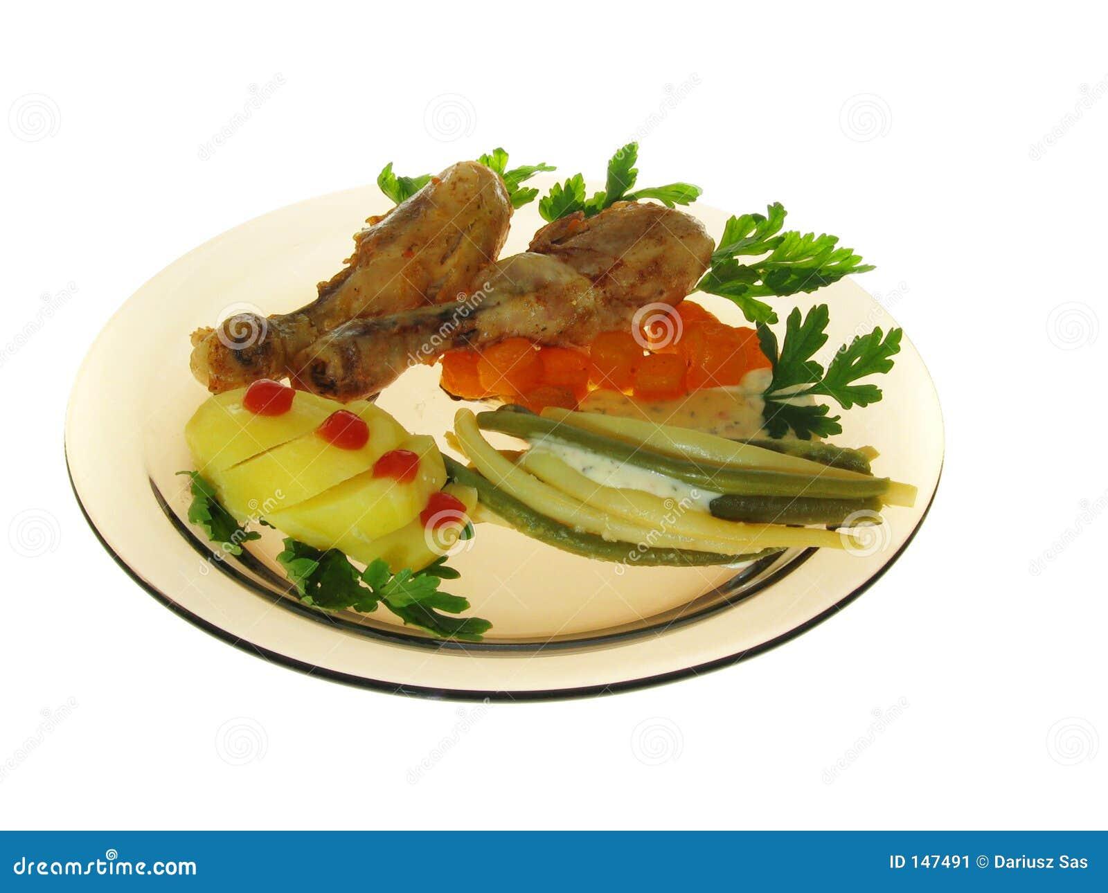 Roast Chicken Stock Image - Image: 147491