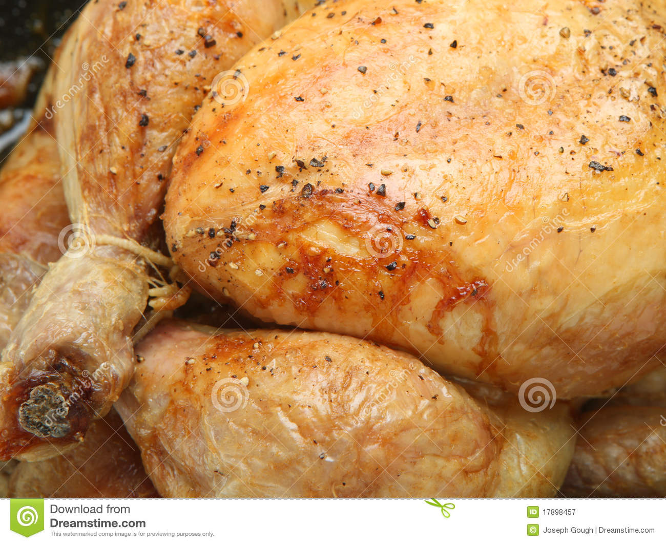 Roast Chicken Royalty Free Stock Photography - Image: 17898457