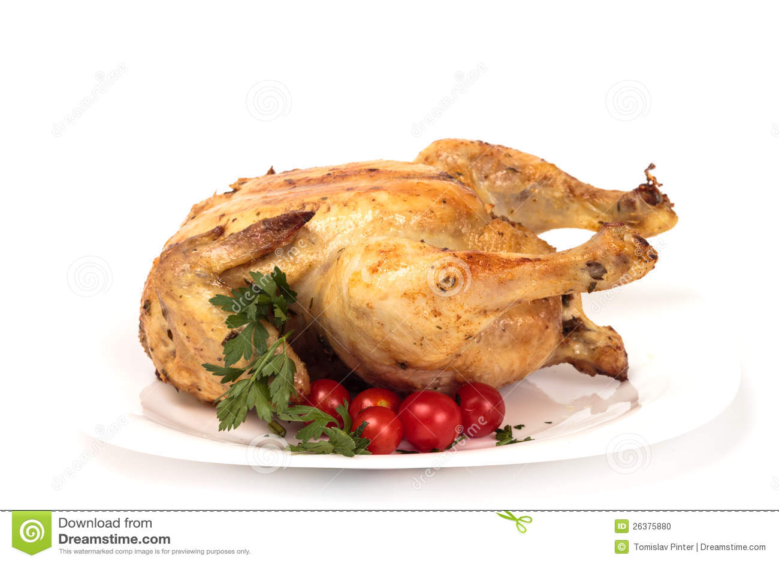 Roast Chicken Stock Photo - Image: 26375880