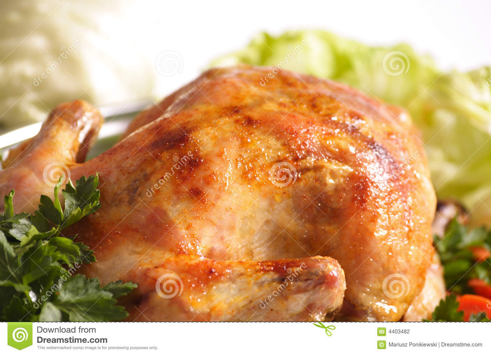 Roast Chicken Stock Photography - Image: 4403482