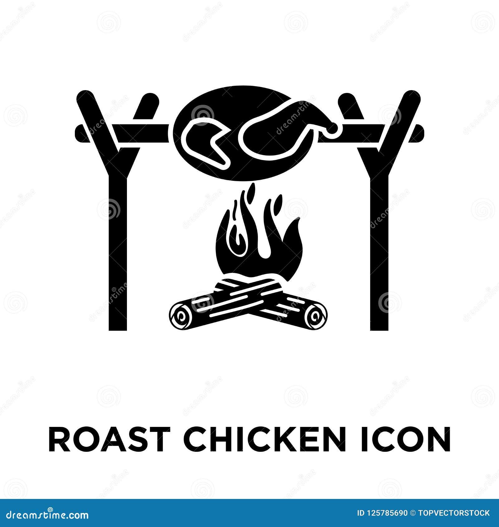 Whole roast chicken from tribalium81, Royalty-free vector ...  Roast Chicken Vector