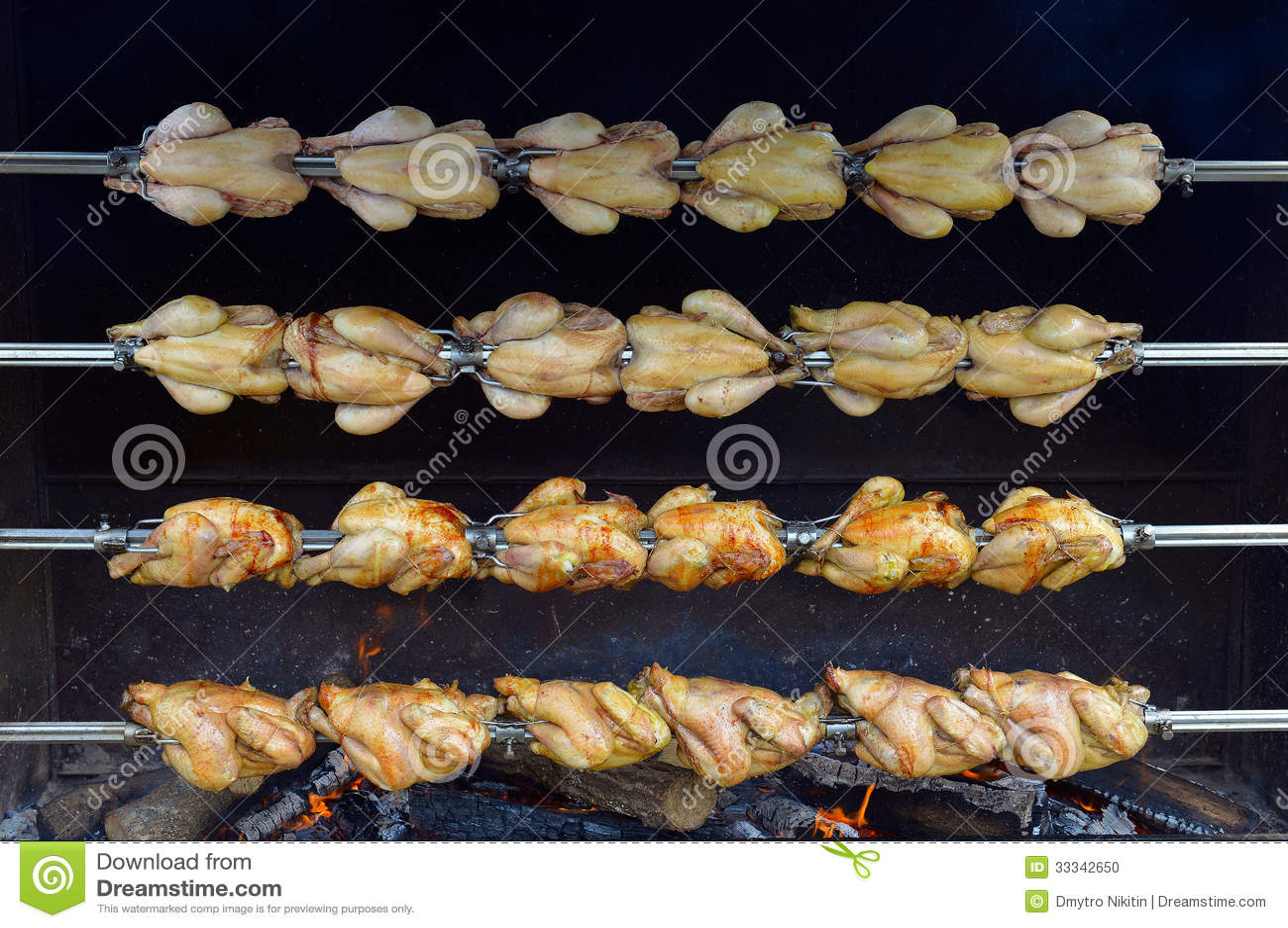 Roast Chicken Stock Photo - Image: 33342650