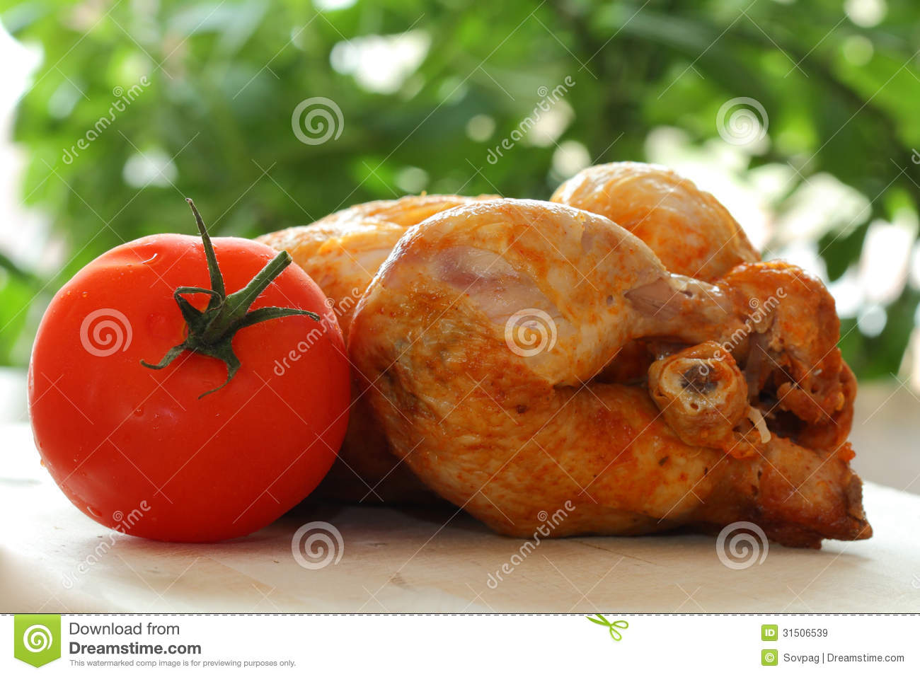 Roast Chicken Royalty Free Stock Images - Image: 31506539