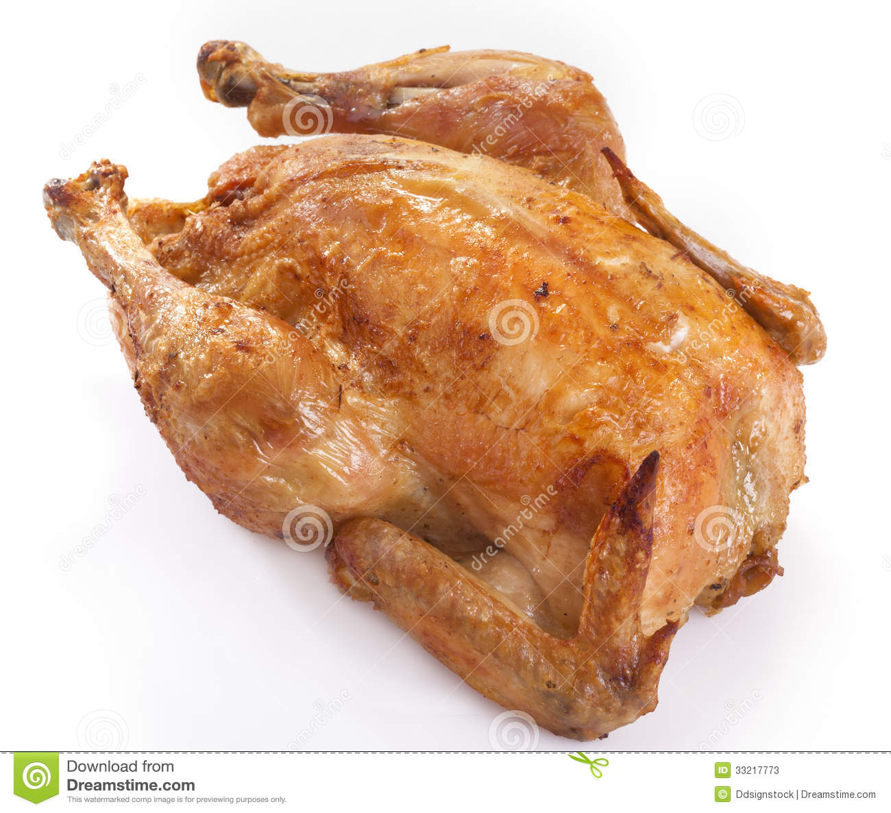 Roast Chicken Stock Photos - Image: 33217773