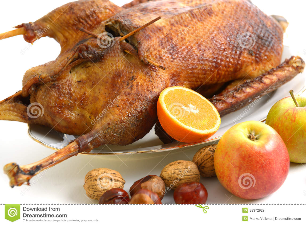 Roast Goose Royalty Free Stock Images - Image: 38372929