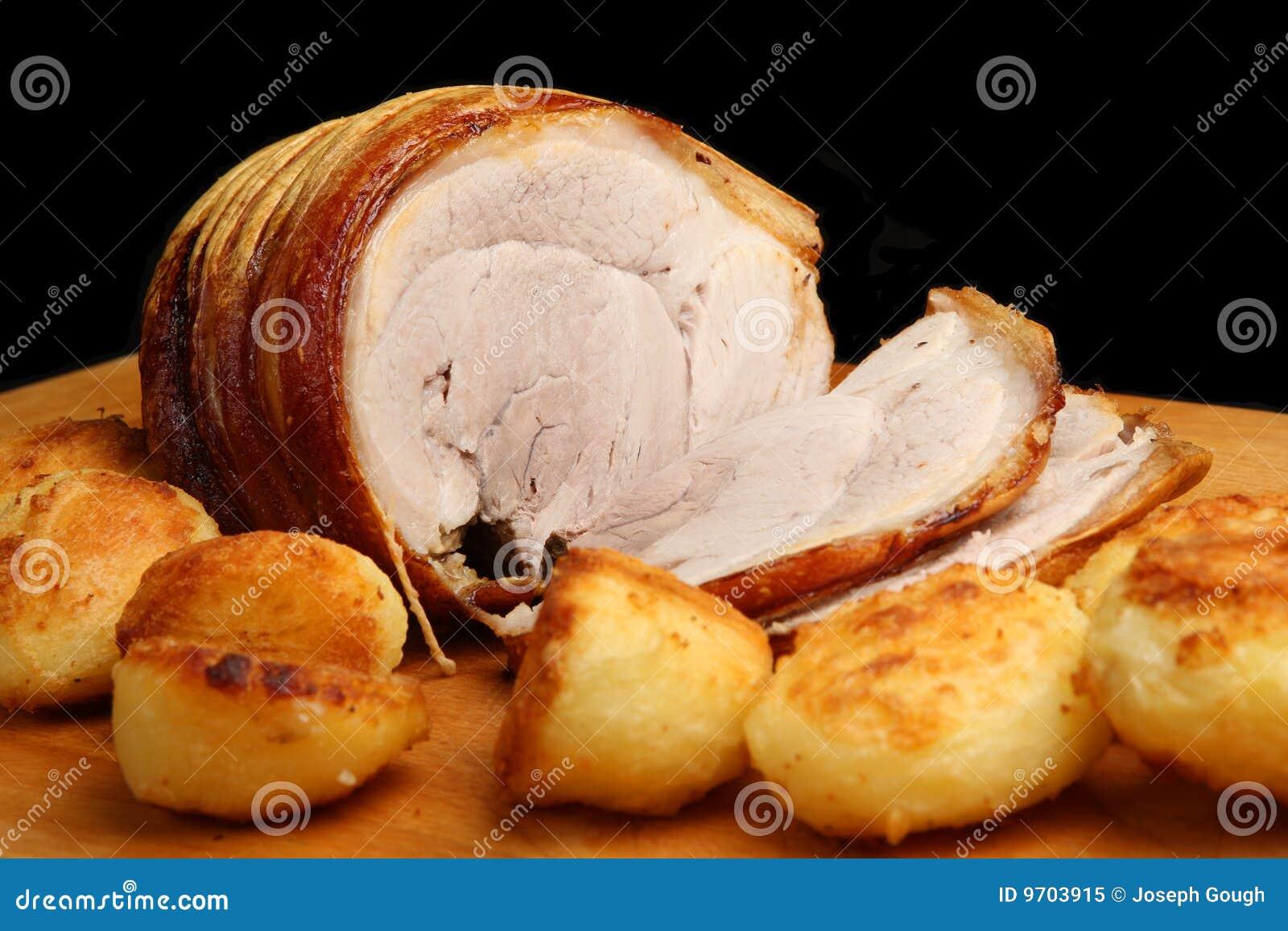 Roast Pork with Potatoes