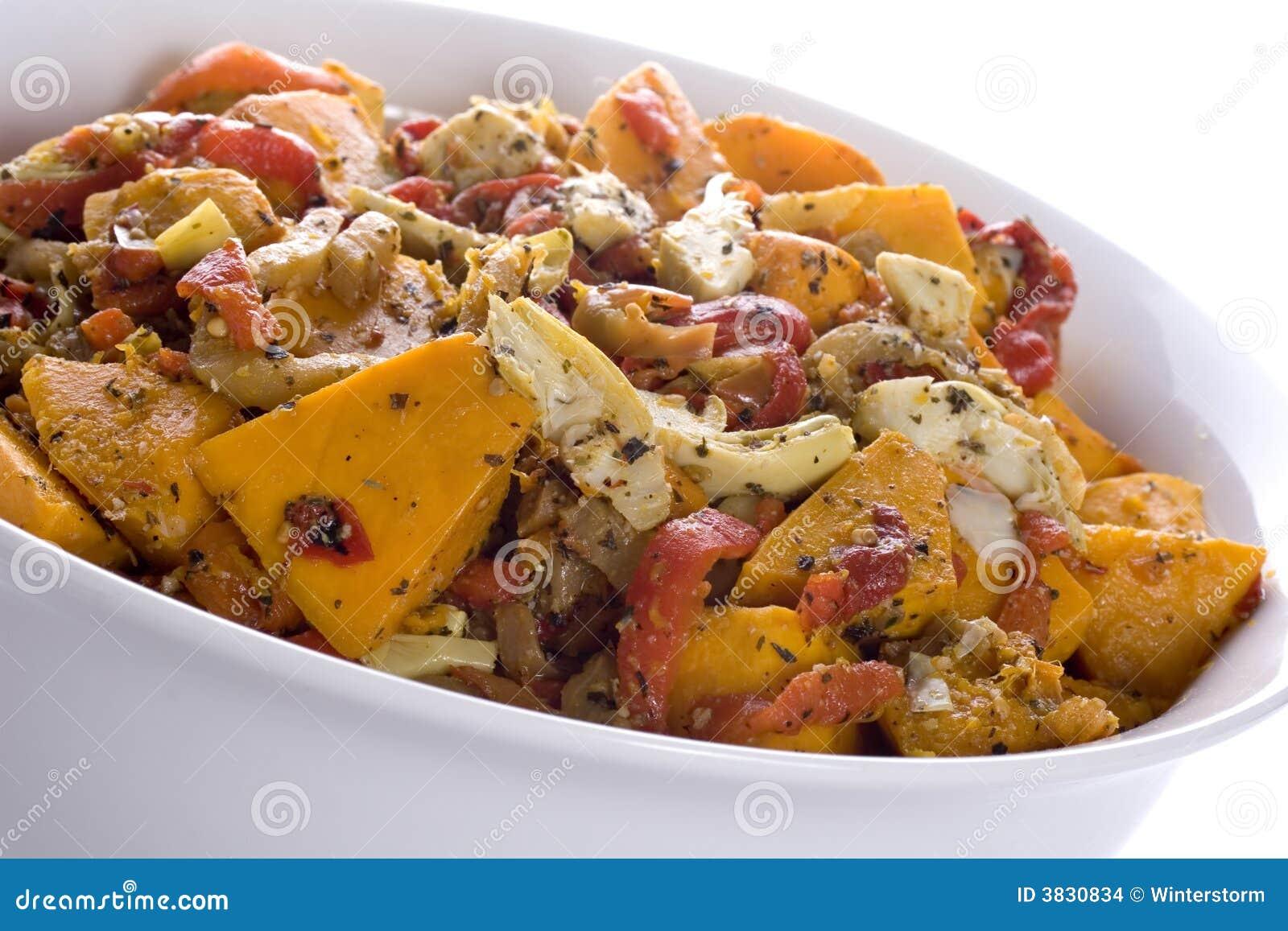 Roast Vegetable Salad Stock Images - Image: 3830834