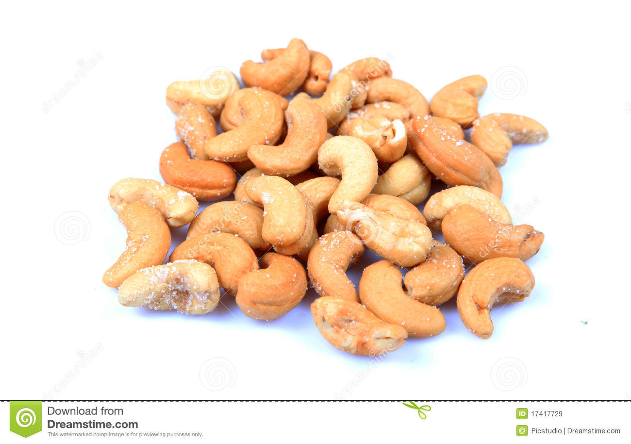 Roasted Cashew Nuts Royalty Free Stock Images - Image ...