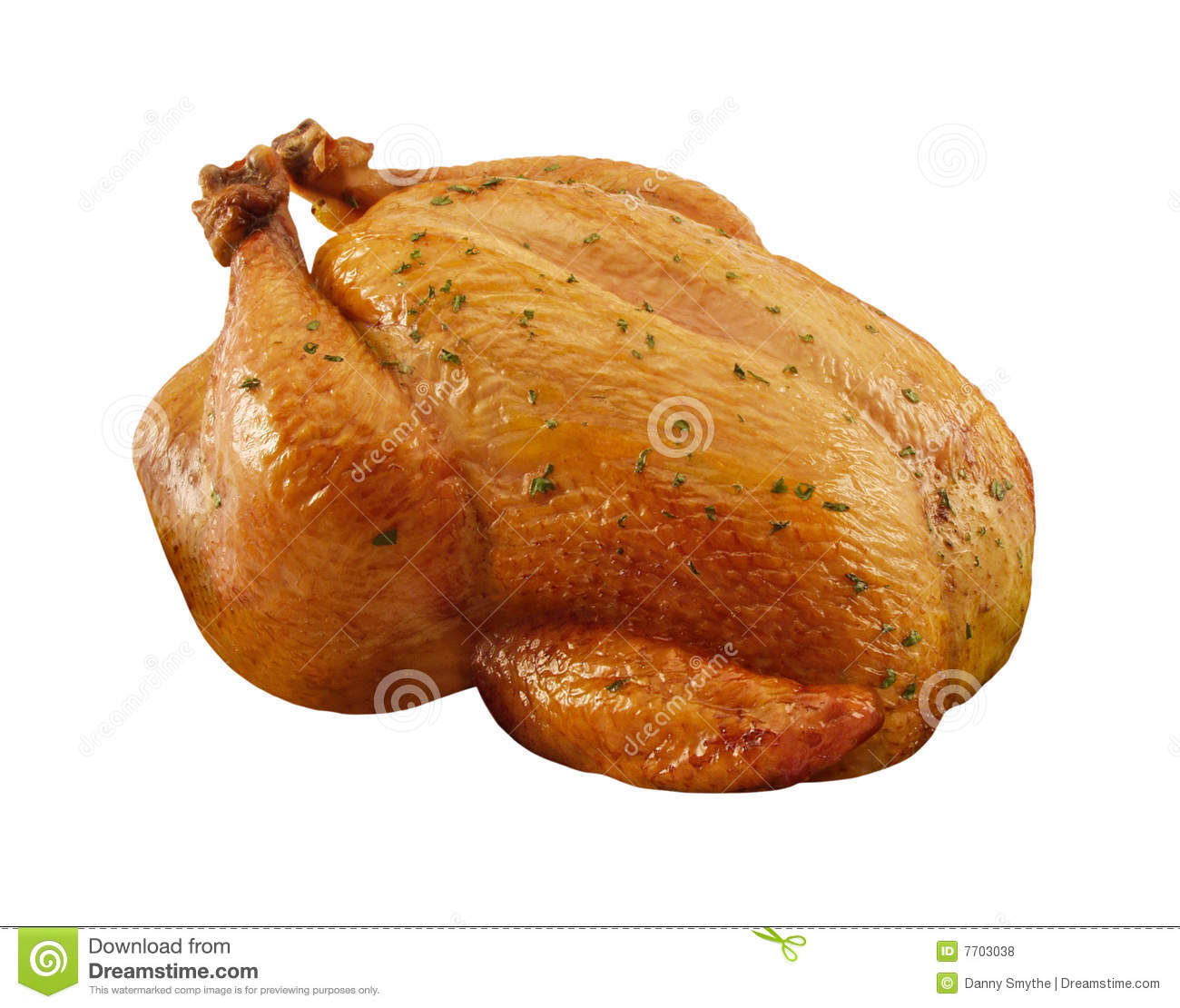 Roasted Chicken Royalty Free Stock Photos - Image: 7703038