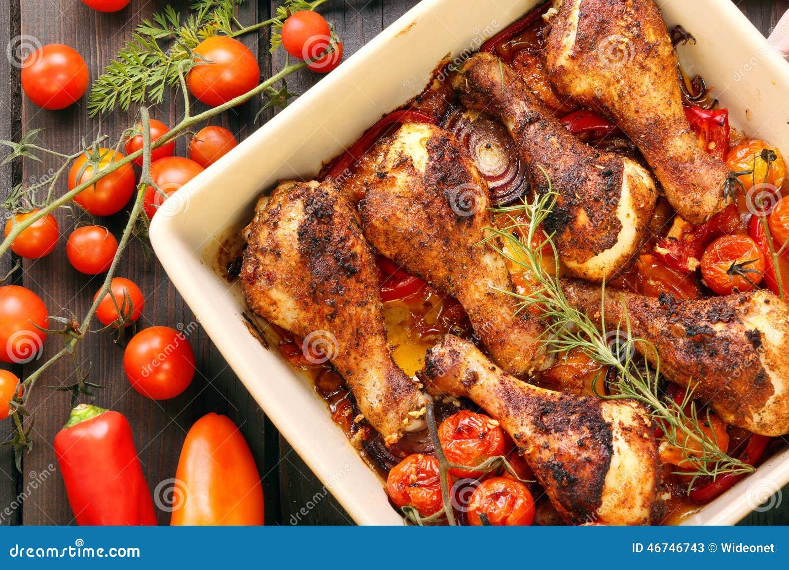 recipe: roasted drumsticks and vegetables [35]