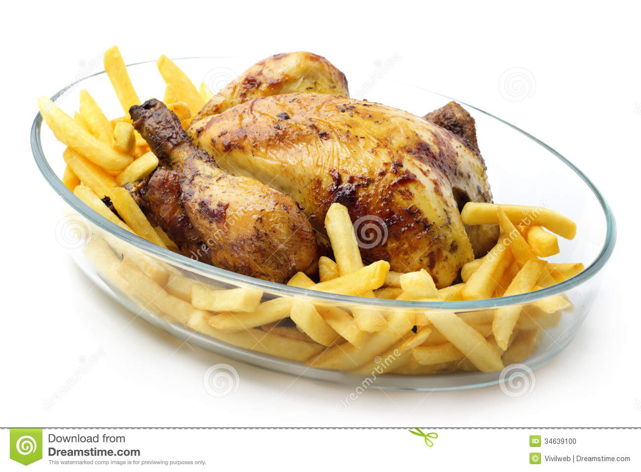 Roasted Chicken With F...
