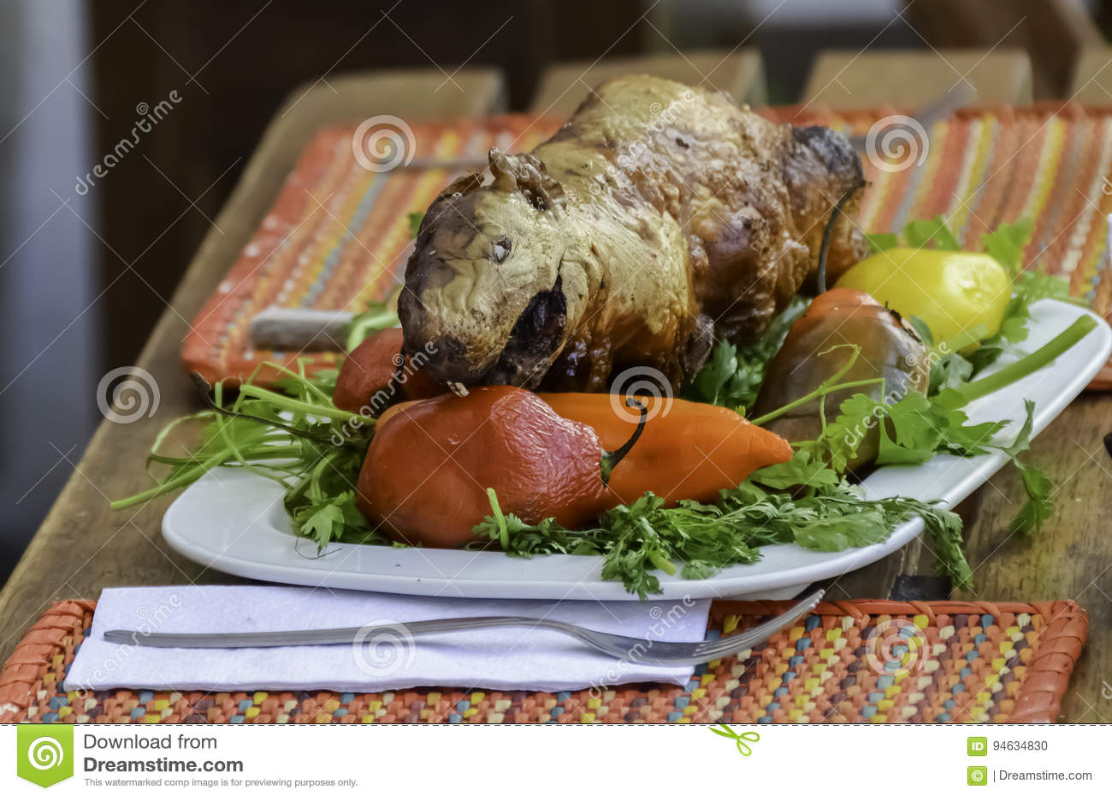 how to make roasted guinea pig