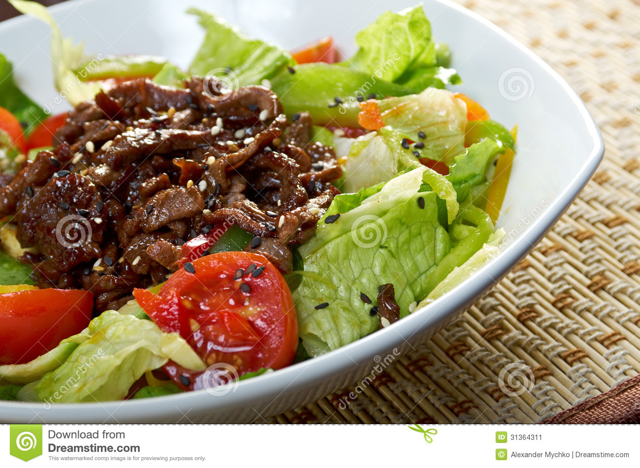 Roasted Meat And Vegetables Stock Image - Image: 31364311