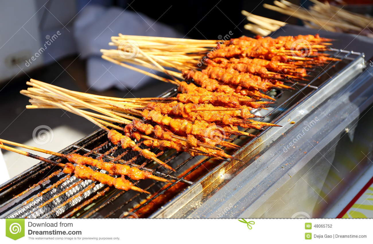 Shashlik asian chinese cuisine food stock photo image for Asia oriental cuisine