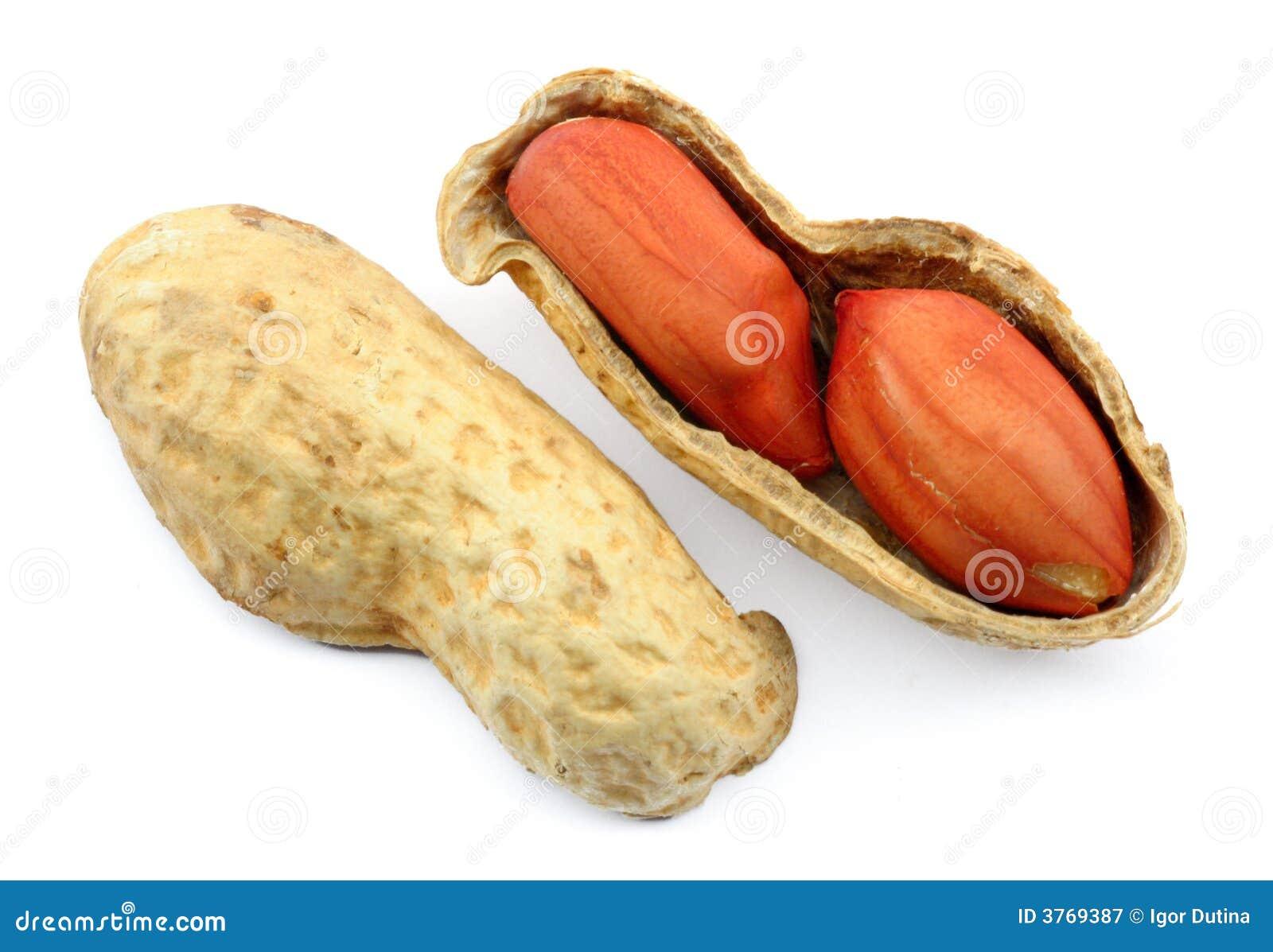 jordnötter med skal