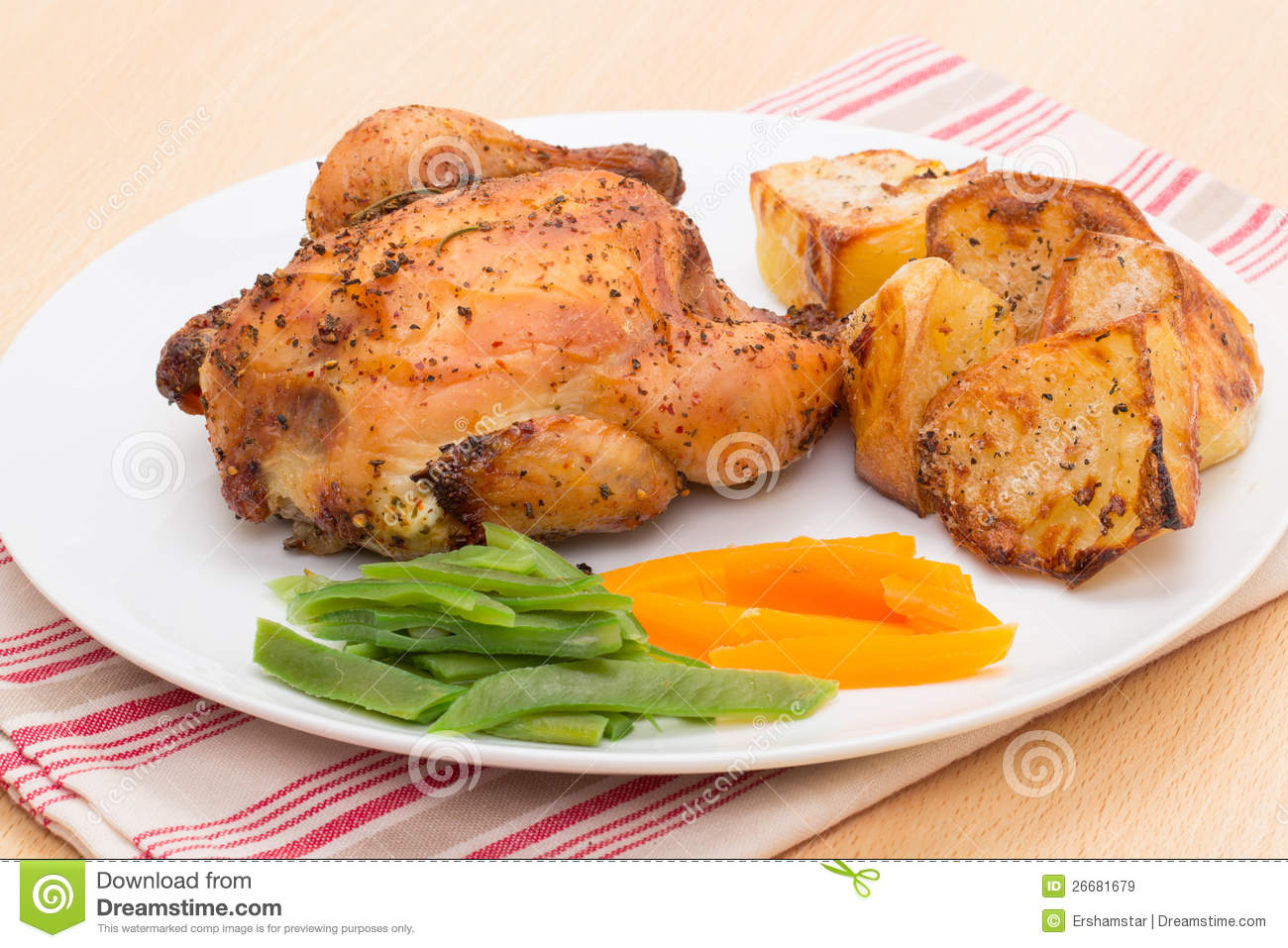 Roasted Poussin or Cornish Game Hen
