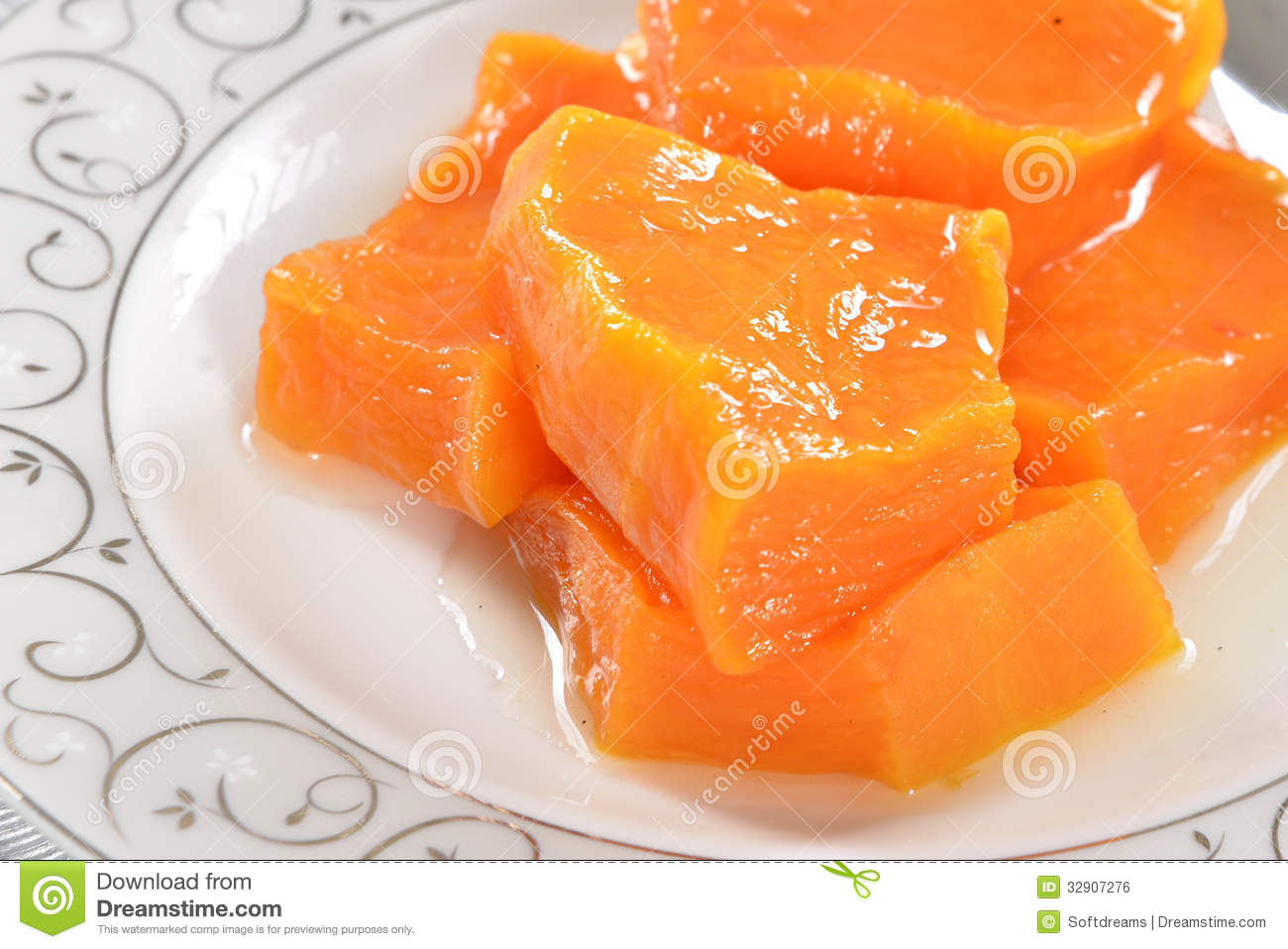 Roasted Pumpkin Royalty Free Stock Image - Image: 32907276