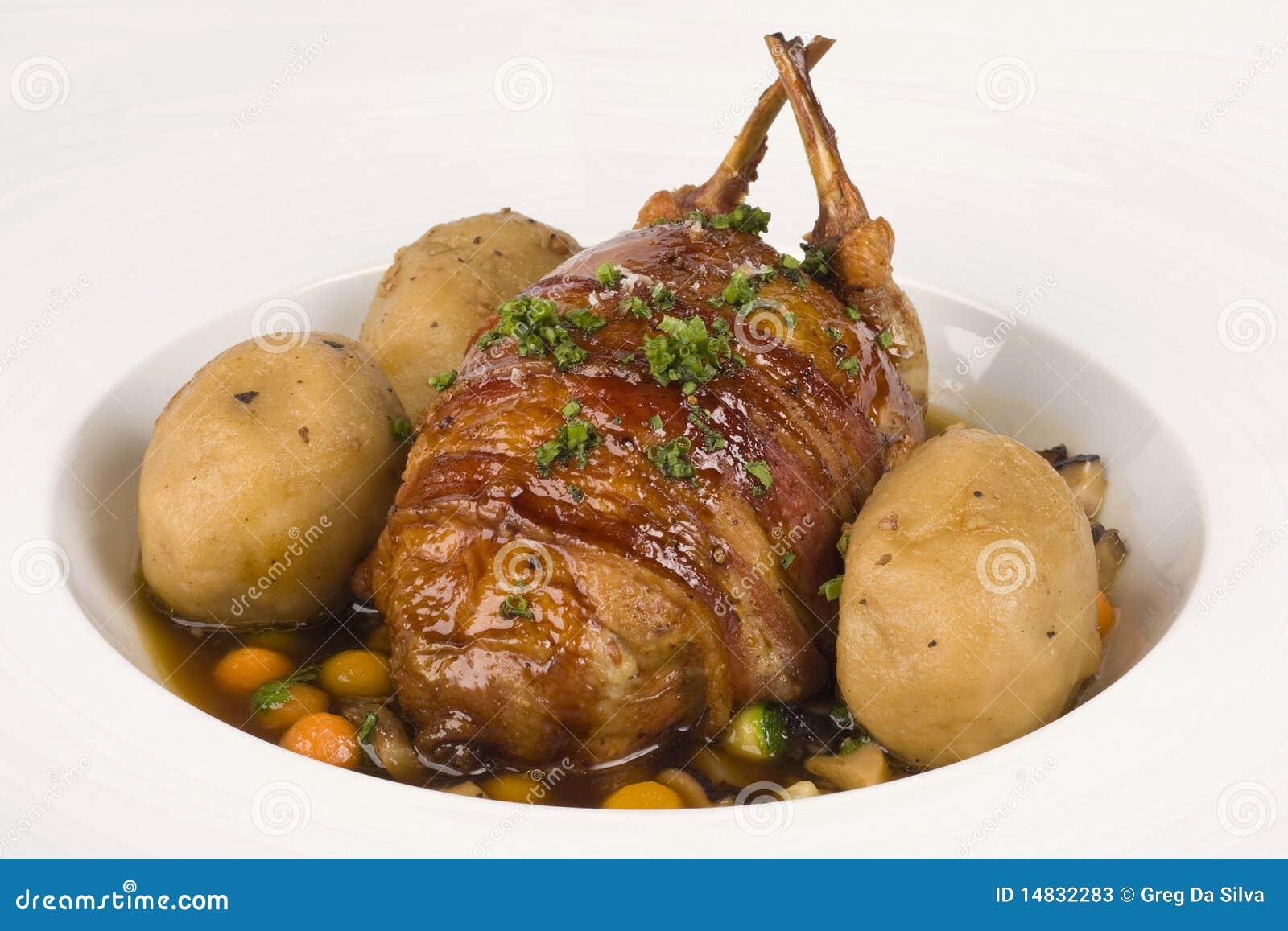Рябчики из свинины рецепт