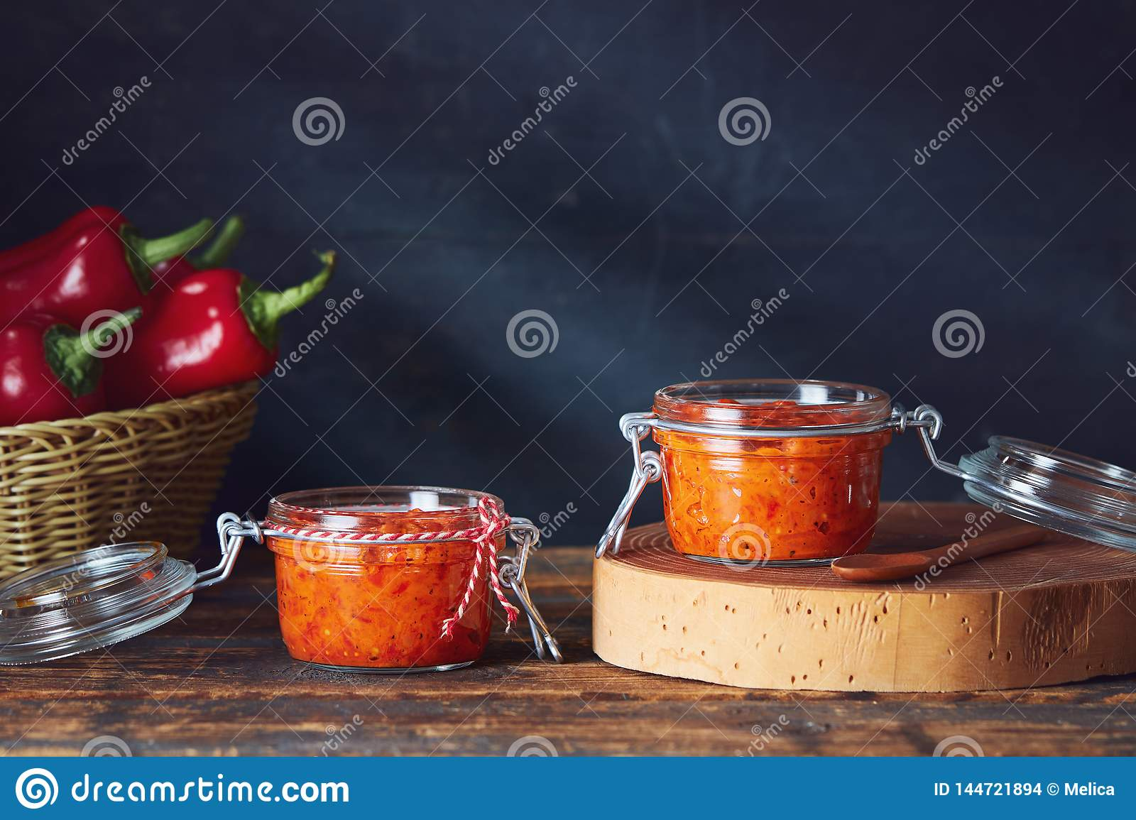 Roasted Red Pepper Relish Ajvar