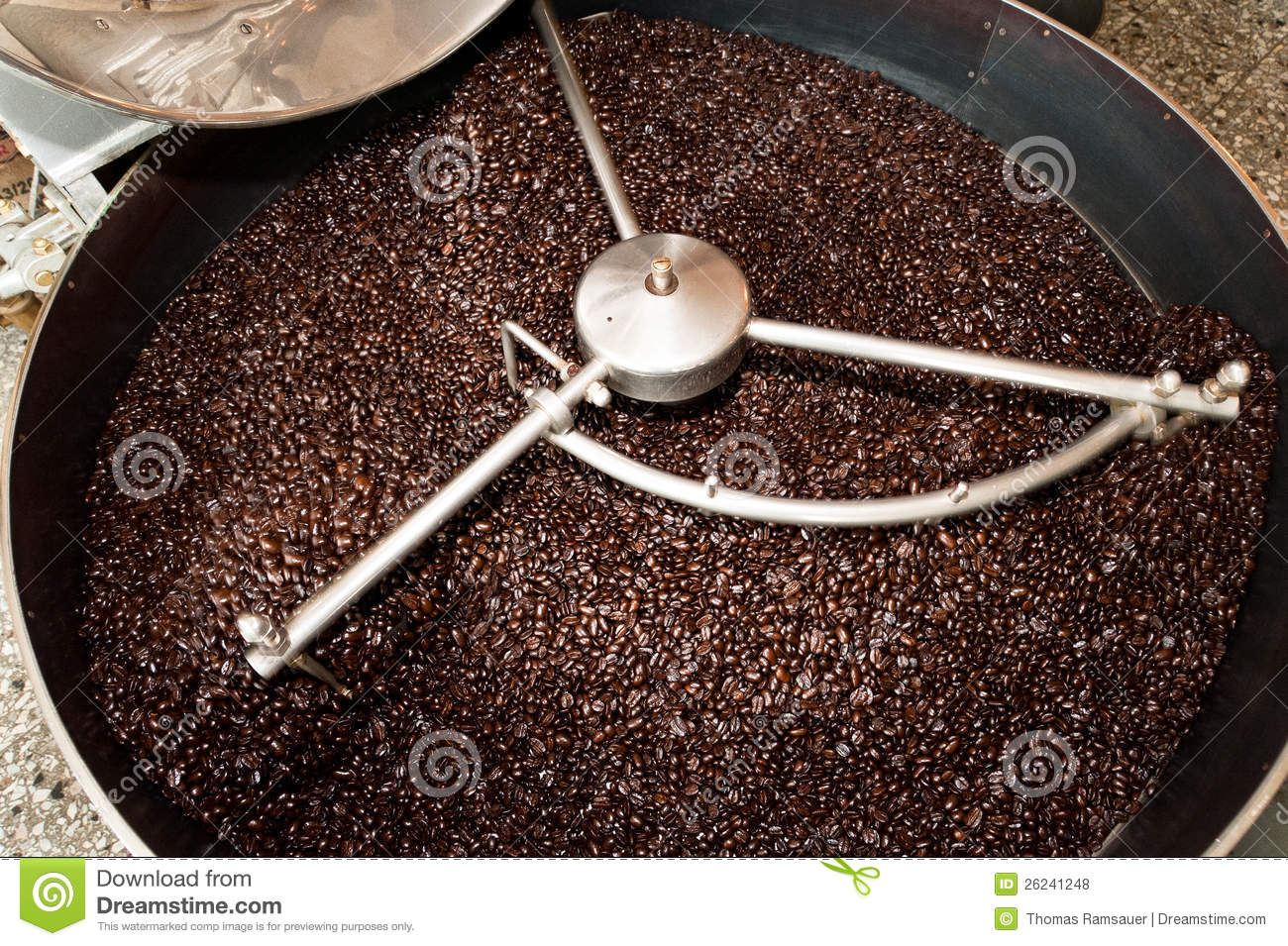 machine to roast coffee beans
