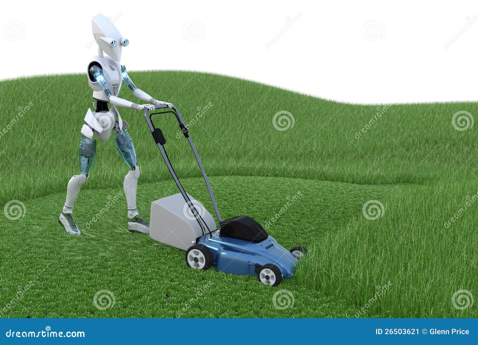 Robô com Lawnmower