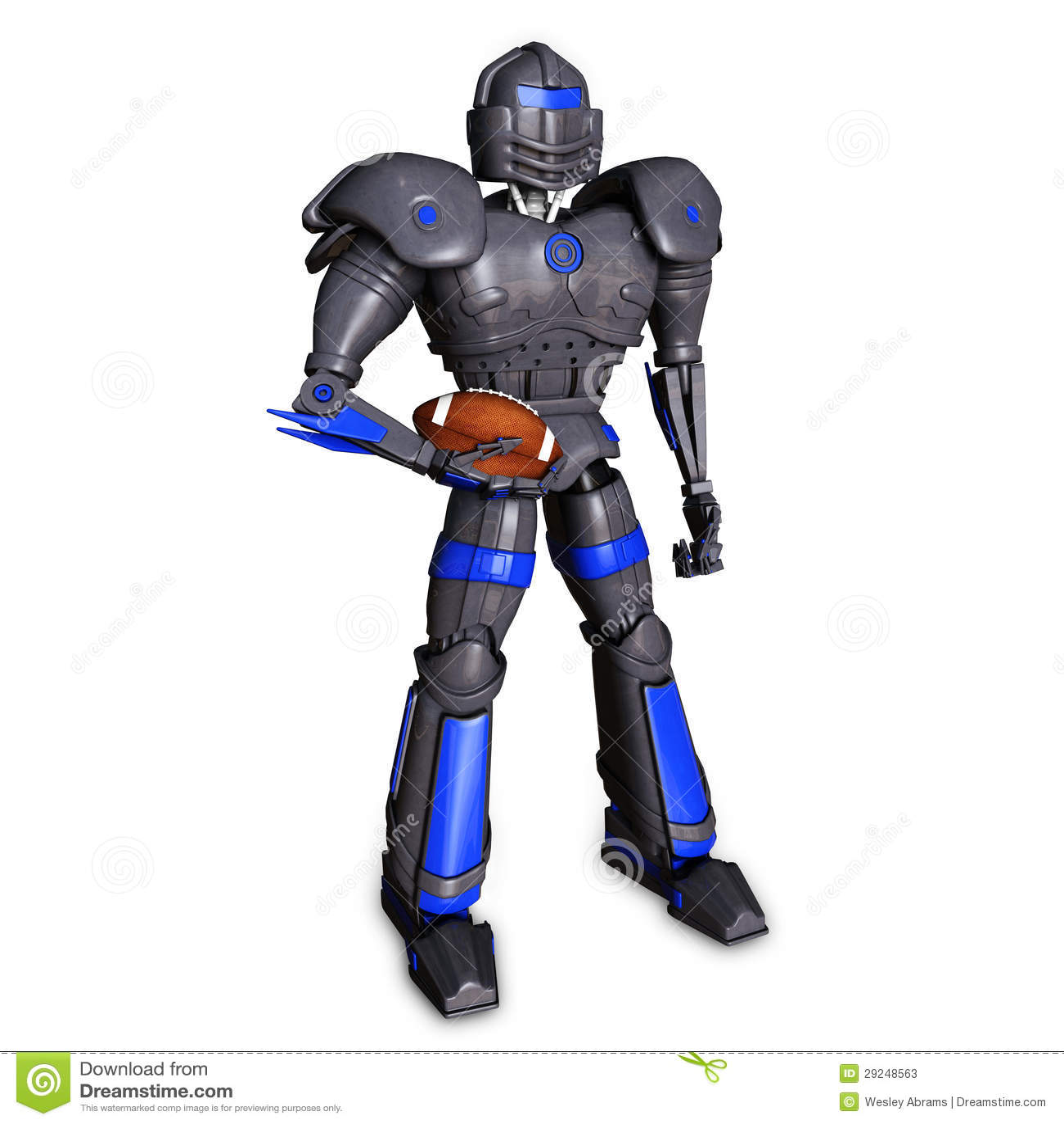 Robô do futebol 3d