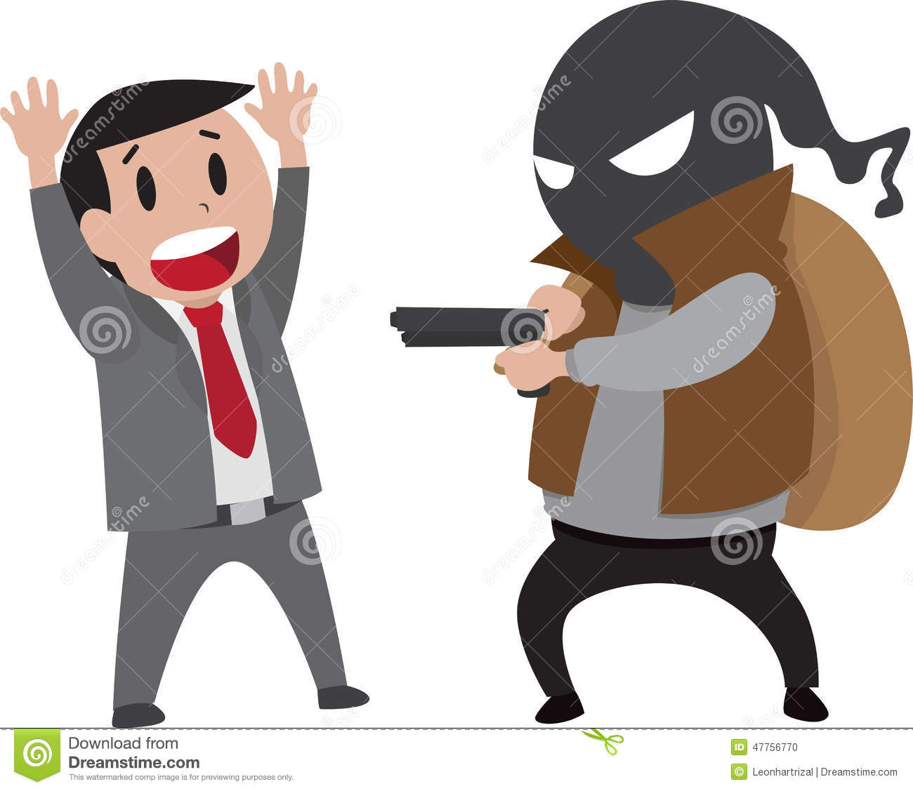 Robbery Stock Vector - Image: 47756770