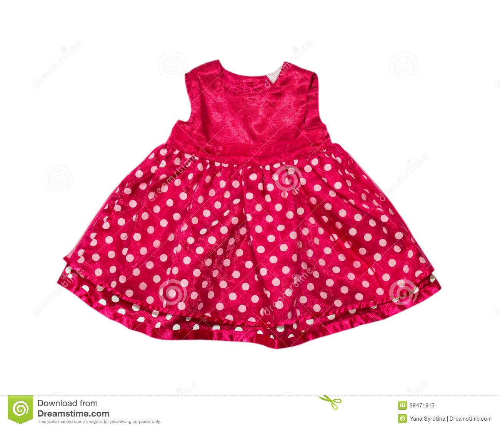 robe rouge de b b photos stock image 38471913. Black Bedroom Furniture Sets. Home Design Ideas