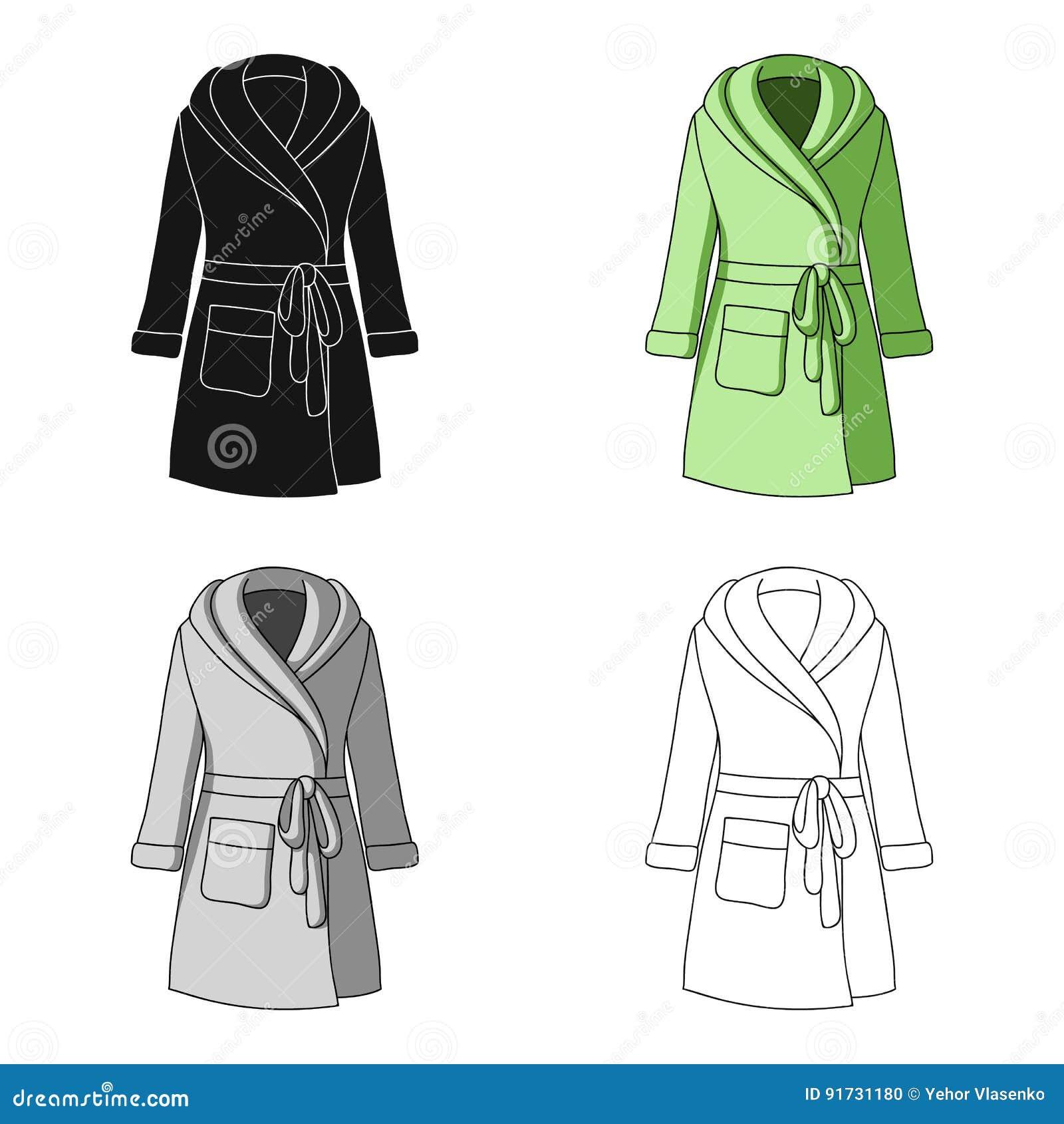 ef3c89607c5aad Robe verte du ` s de dame après bain Vêtements à la maison pour des femmes