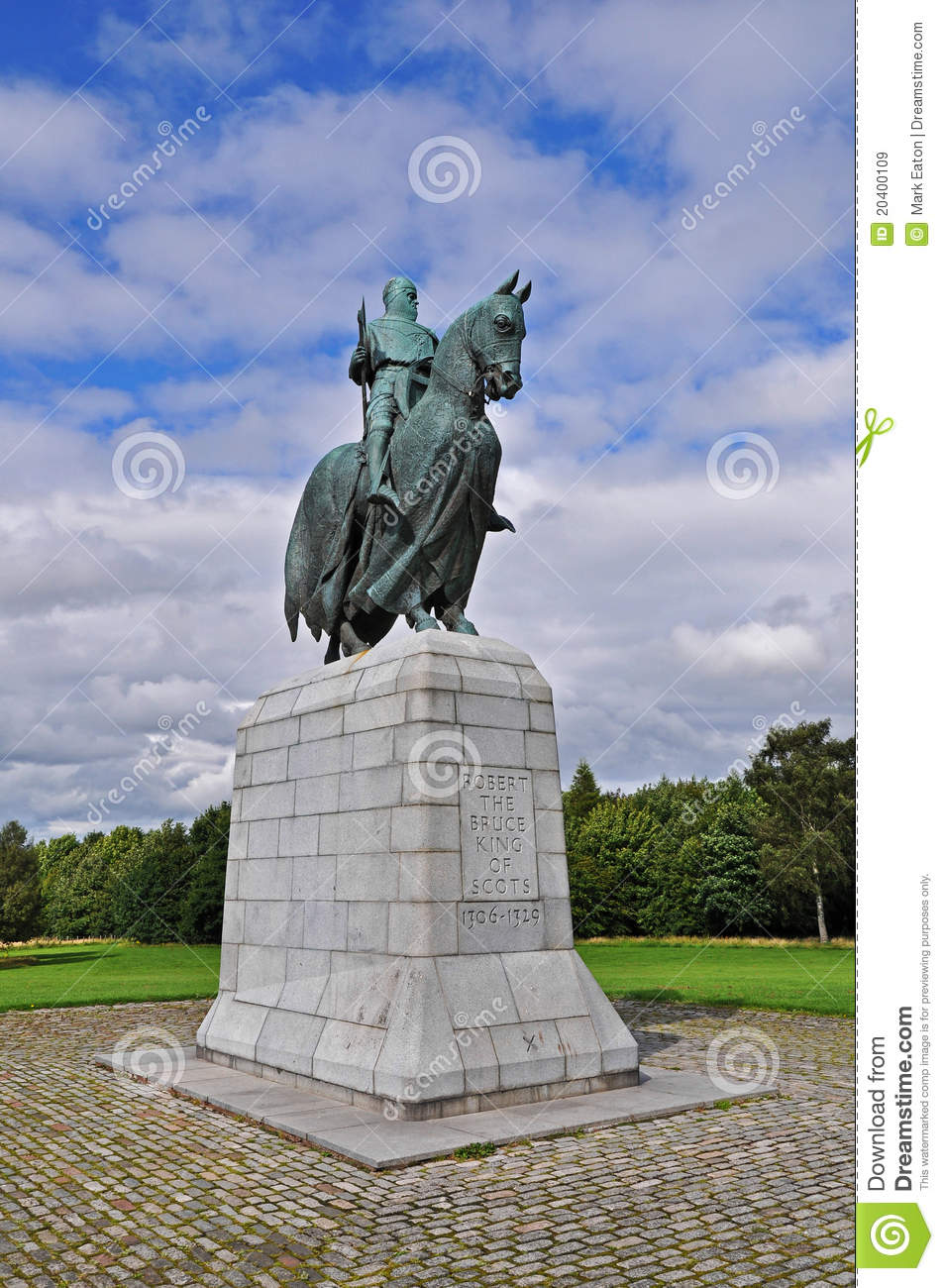Robert the Bruce Monument at Bannockburn