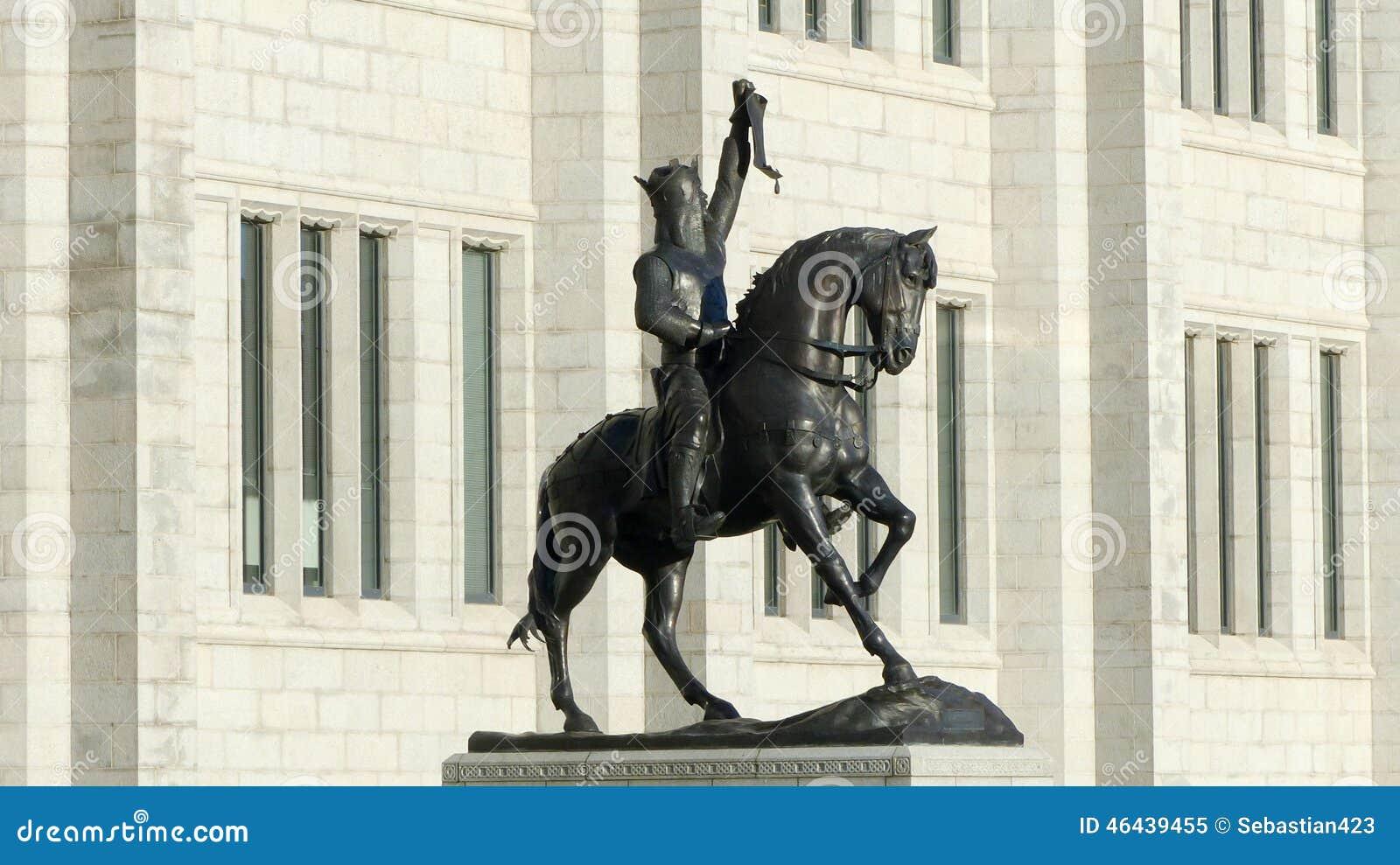 Robert The Bruce Statue Aberdeen Escócia