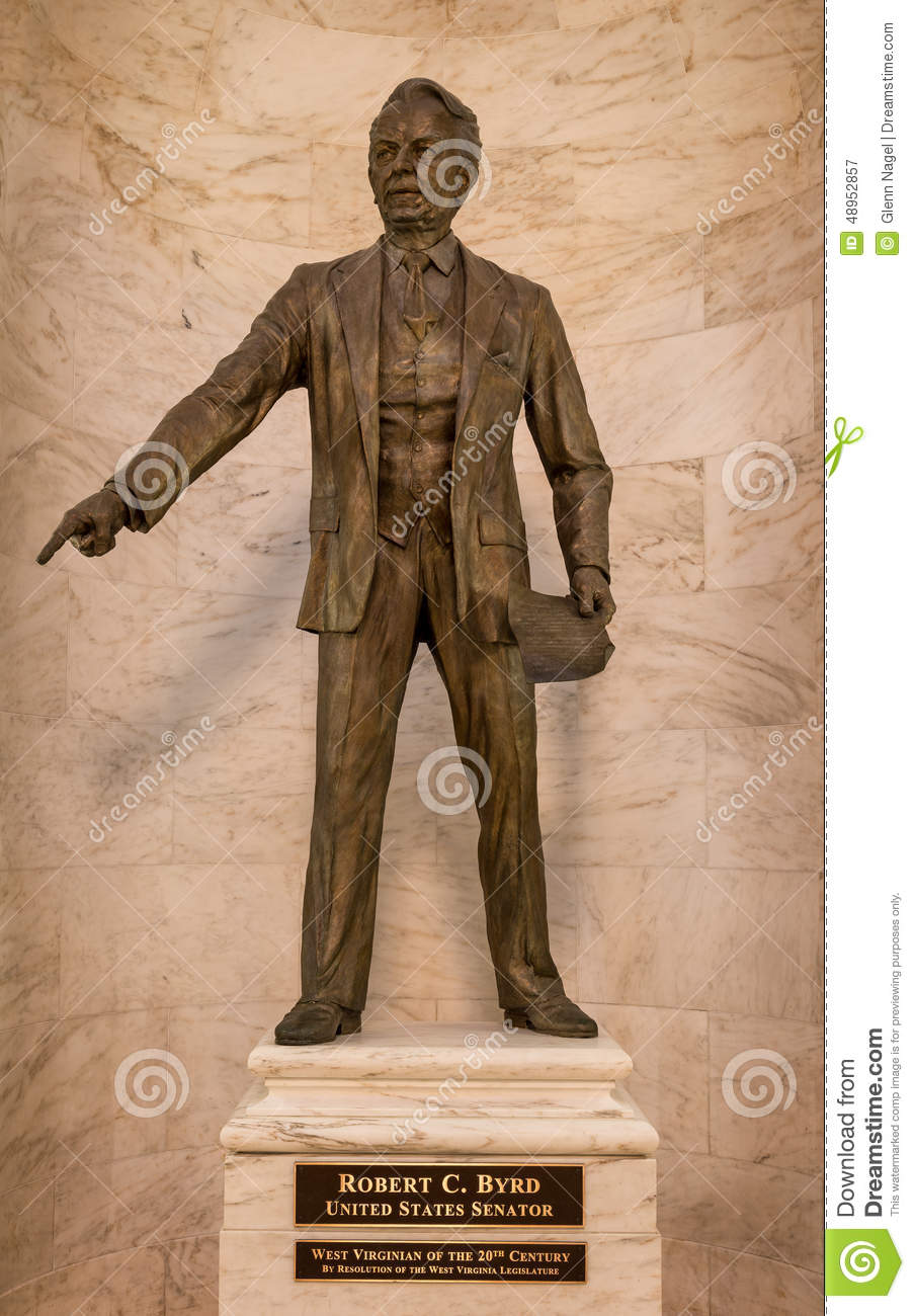 Robert C Byrd Statue Editorial Photography Image 48952857