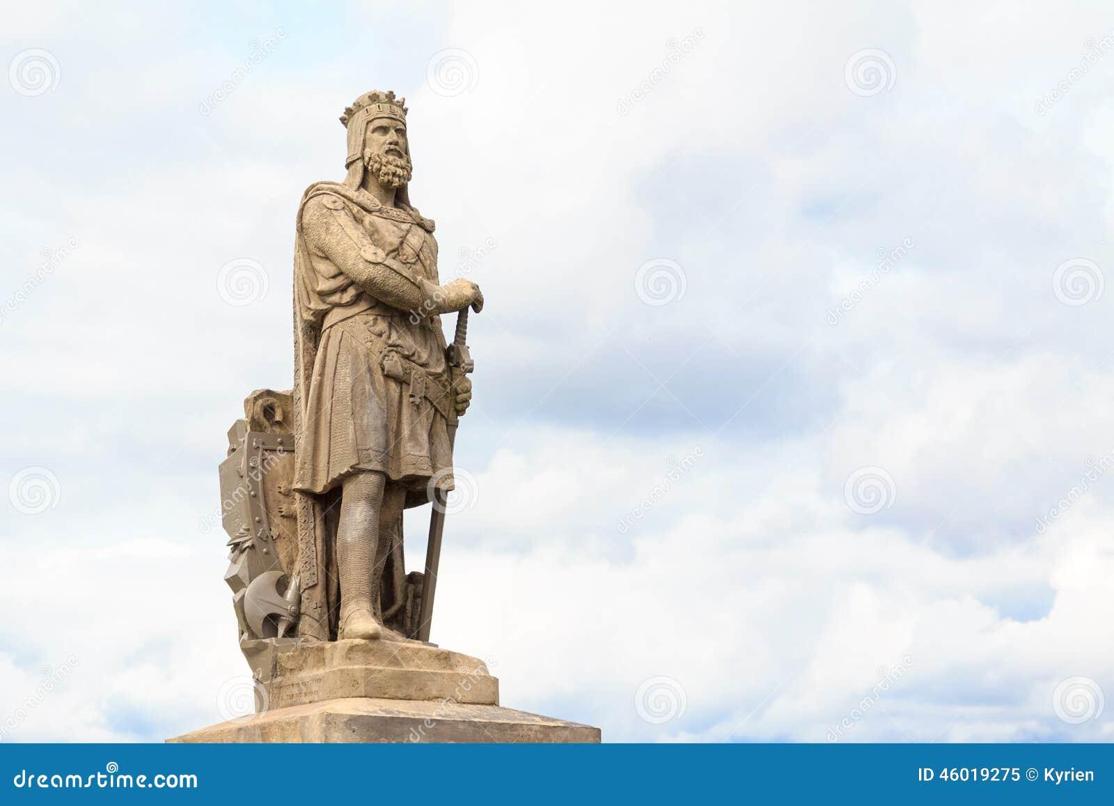 Robert Der Bruce, König Von Schottischem Stockbild Bild