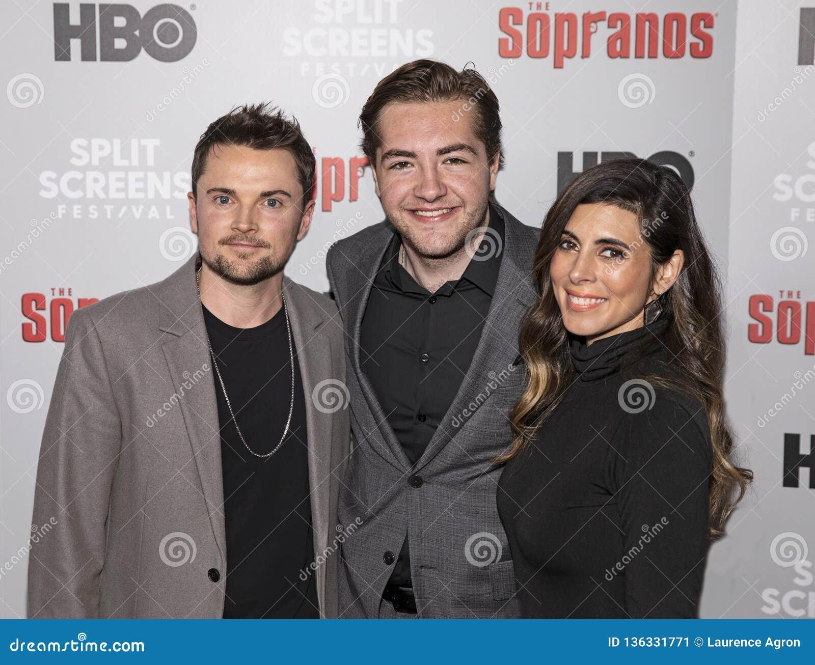 Robert Iler, Michael Gandolfini, en Jamie-Lynn Sigler