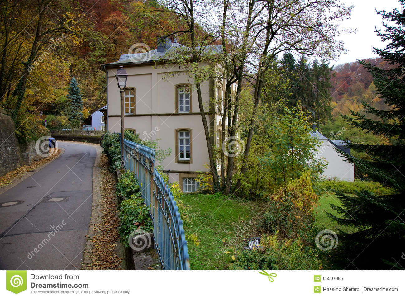 Robert schuman house in luxembourg editorial image image for Luxembourg house