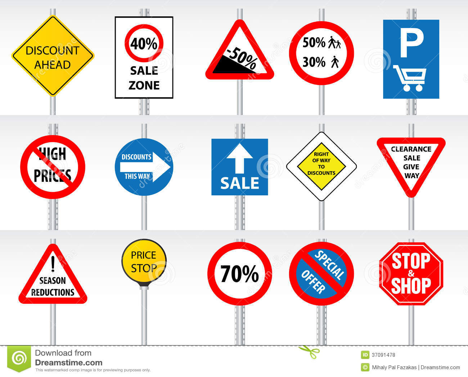 Download Robiący Zakupy Rabaty Inspirujących Ruchów Drogowych Znakami Ilustracja Wektor - Ilustracja złożonej z odosobniony, traffic: 37091478