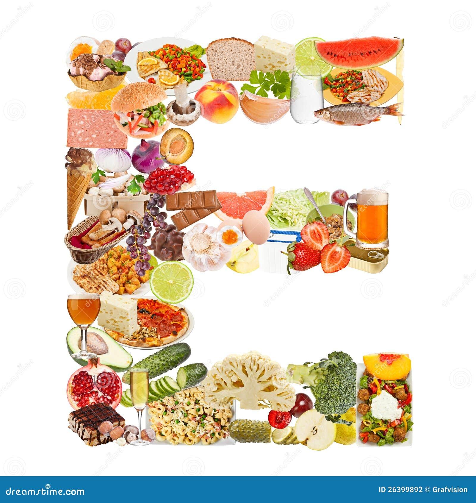 Robić jedzenie listowy E