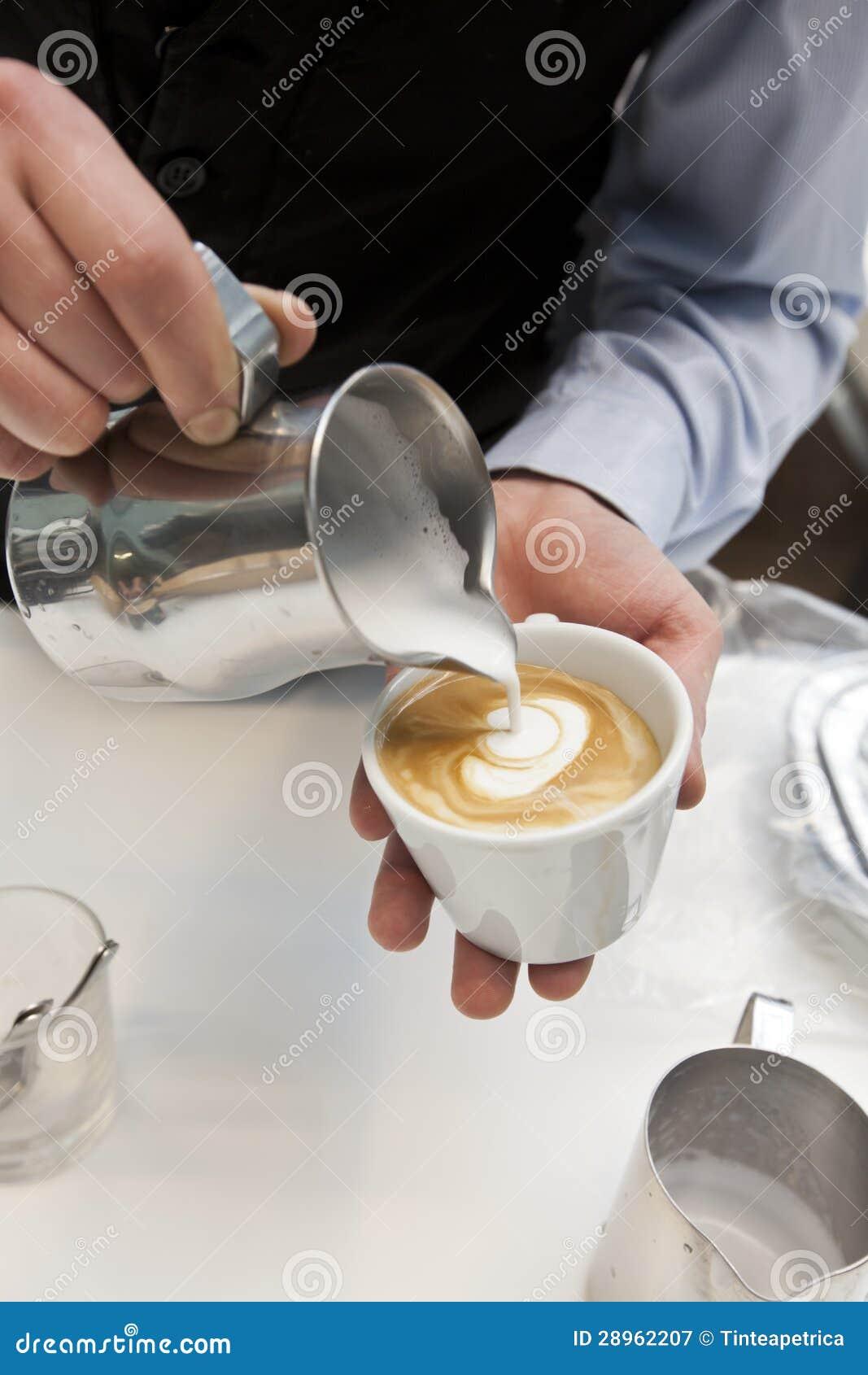 Robić kawie
