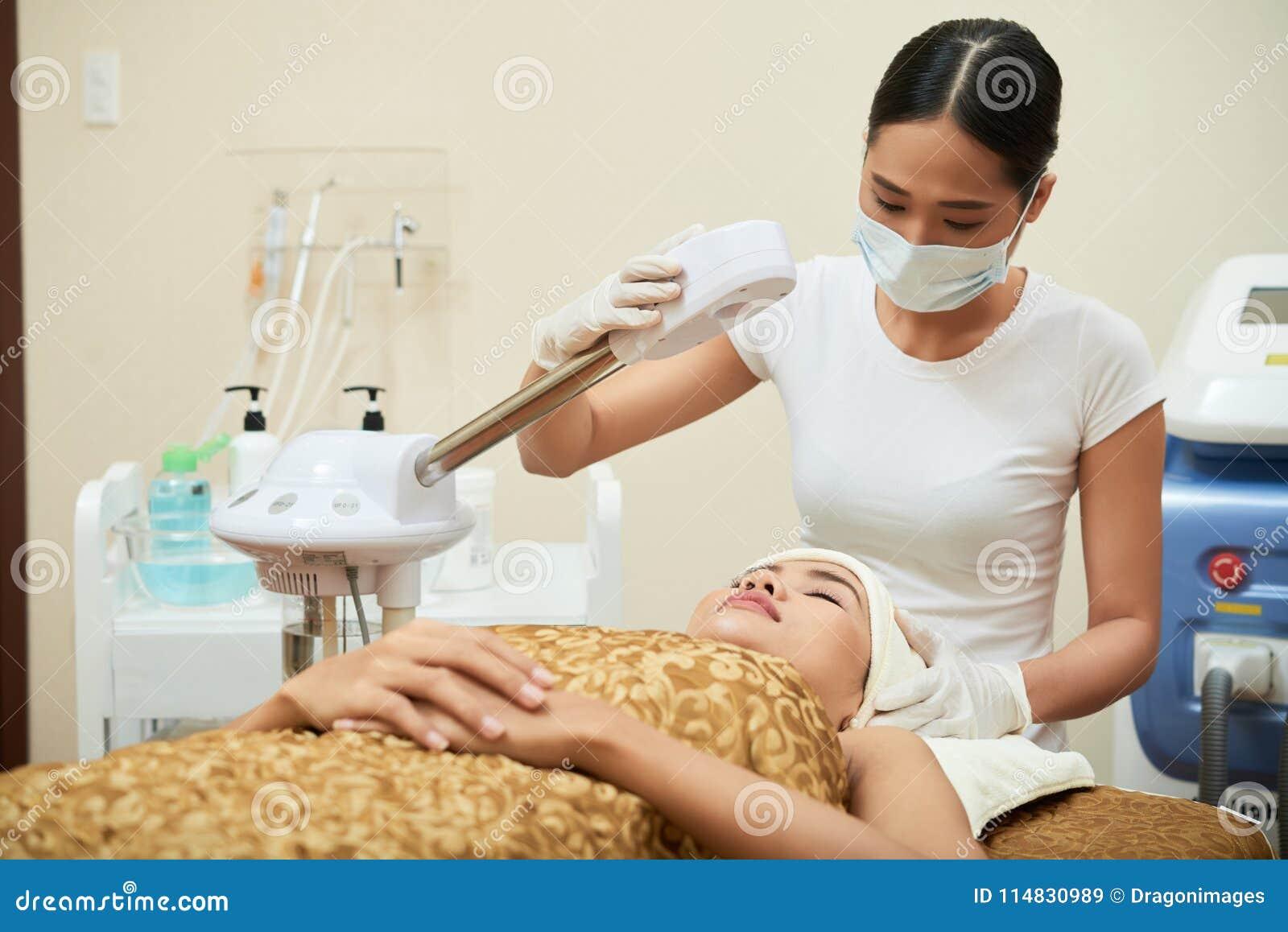 Robić przygotowaniom dla piękno procedury