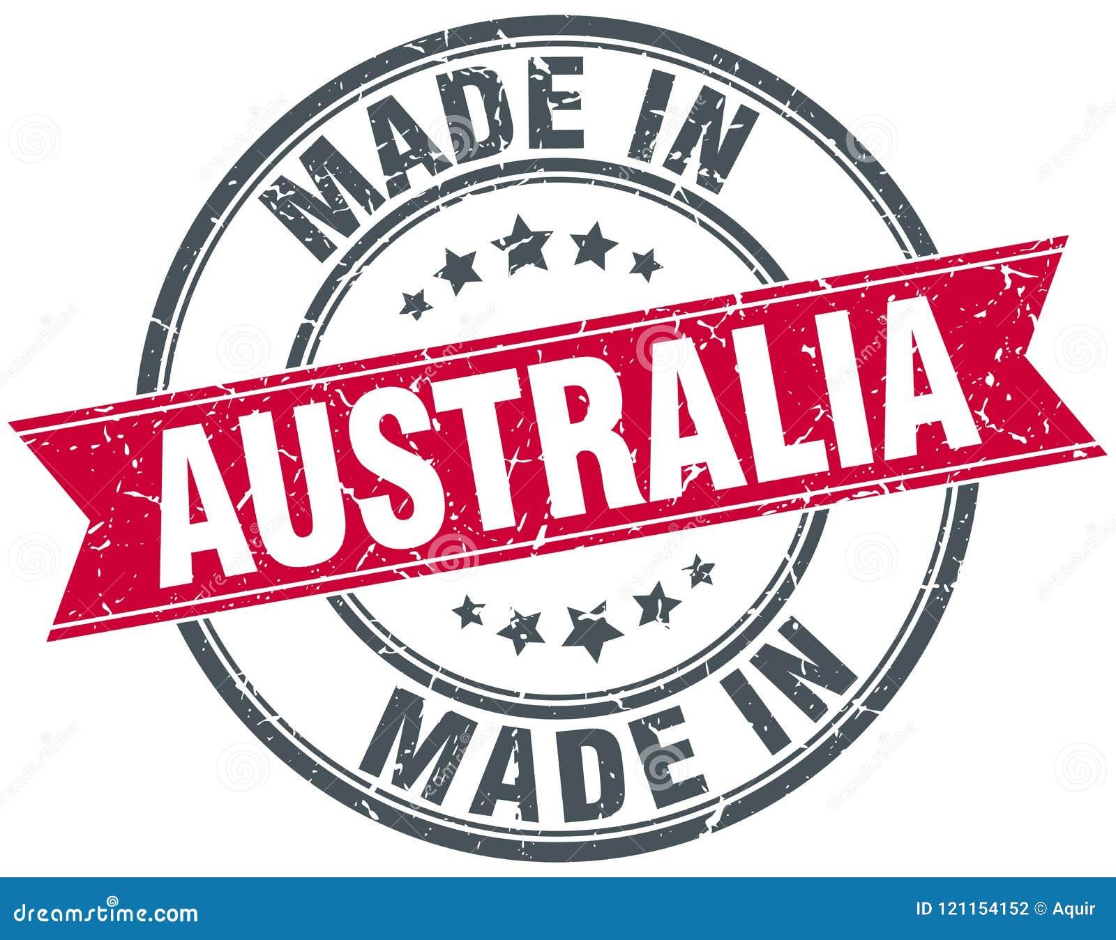 Robić w Australia znaczku